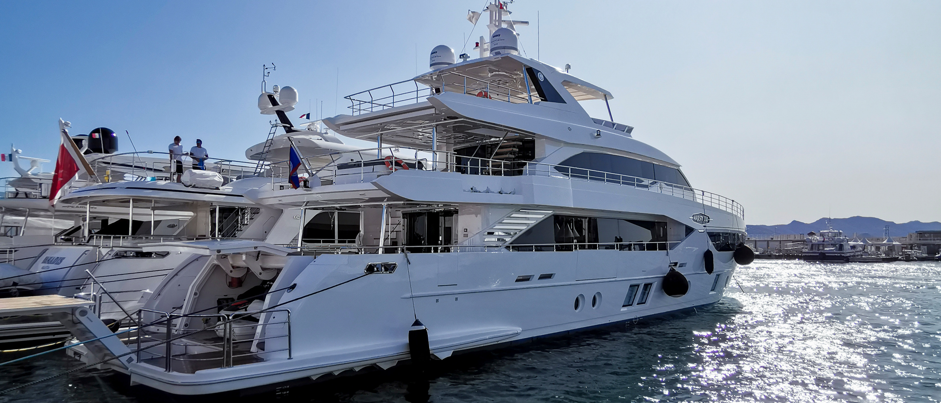 Gulf Craft in Cannes Yachting Festival 2019 Day 0 (3)
