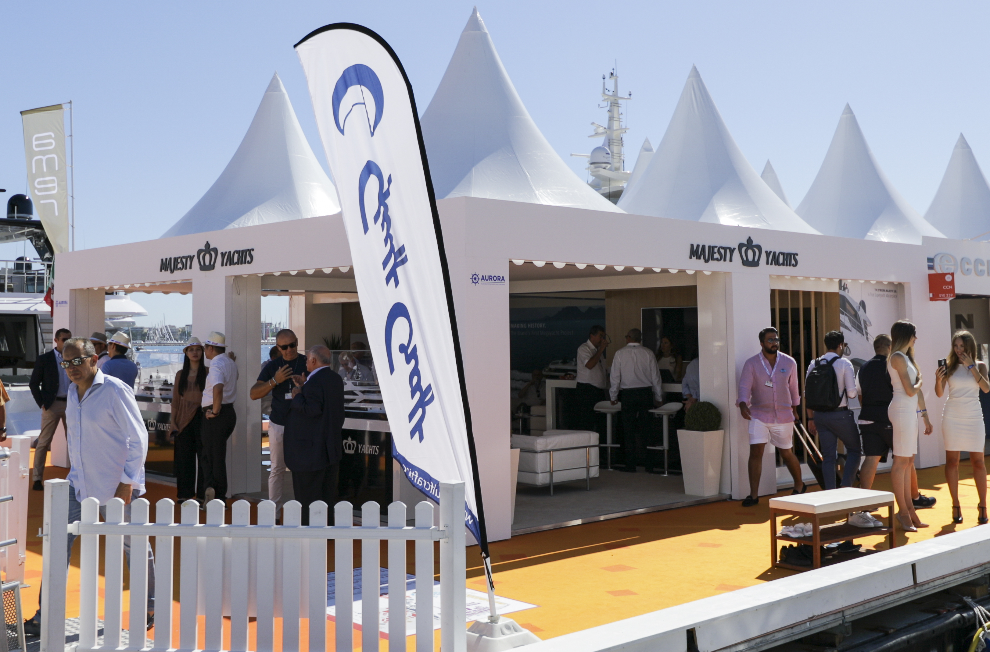 Majesty Yachts at Cannes Yachting Festival 2019