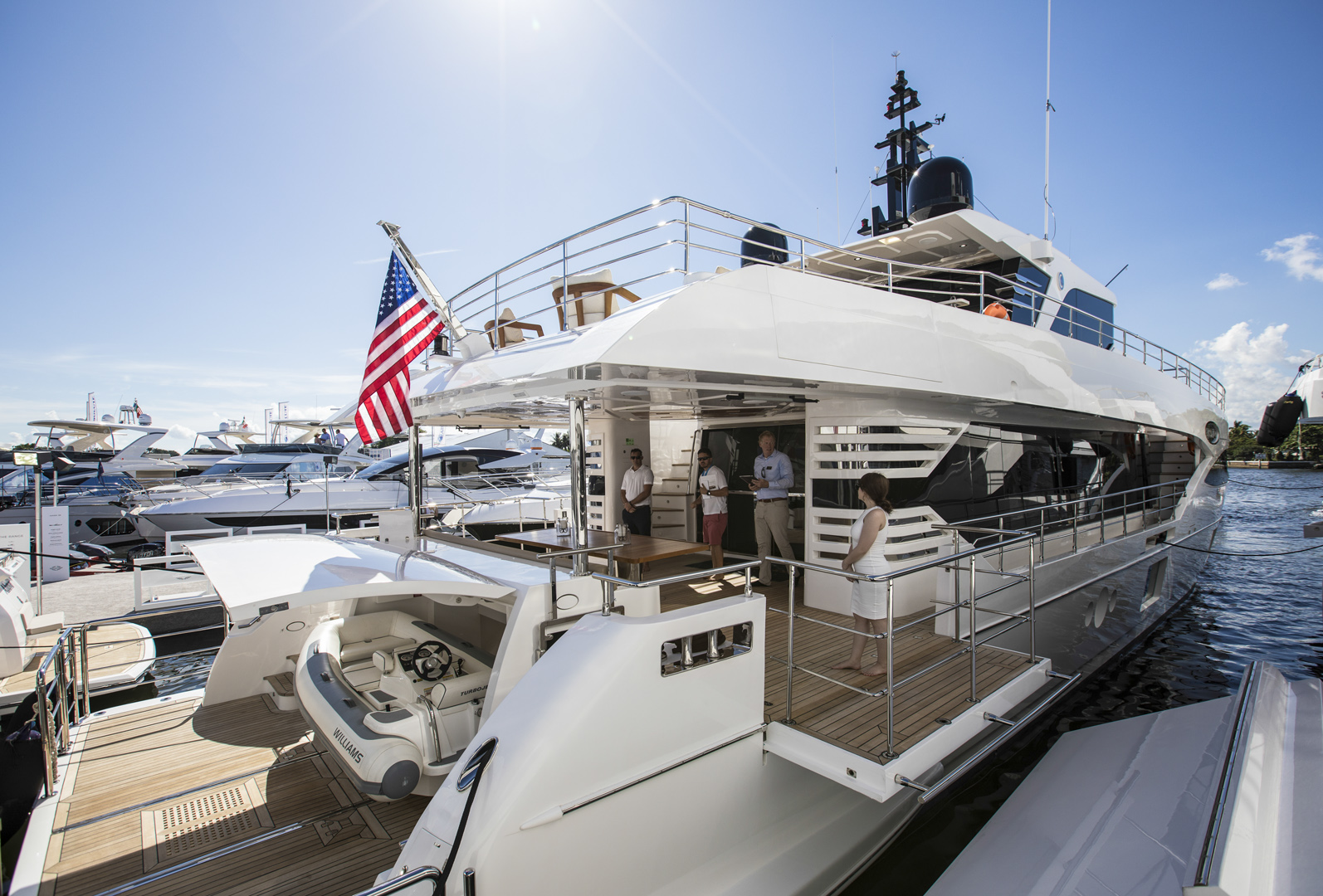 GUlf Craft at Fort Lauderdale International Boat Show 2019 Day 2 (5)