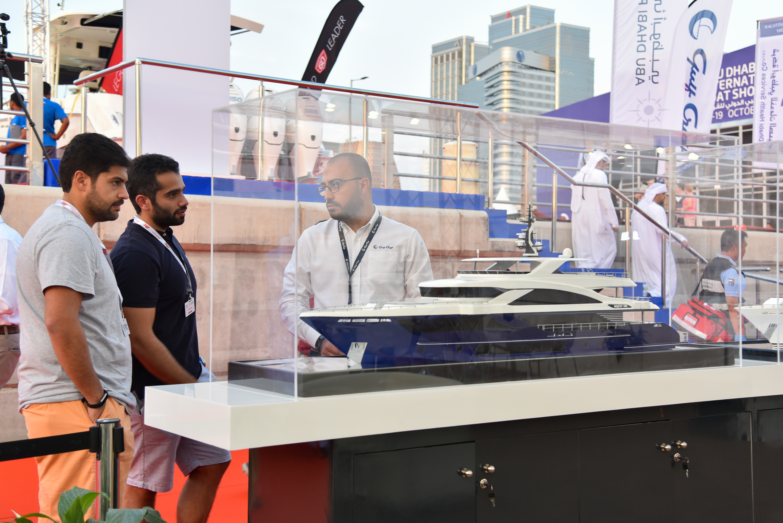 Gulf Craft at Abu Dhabi Boat Show 2018 Day 3 (18).jpg