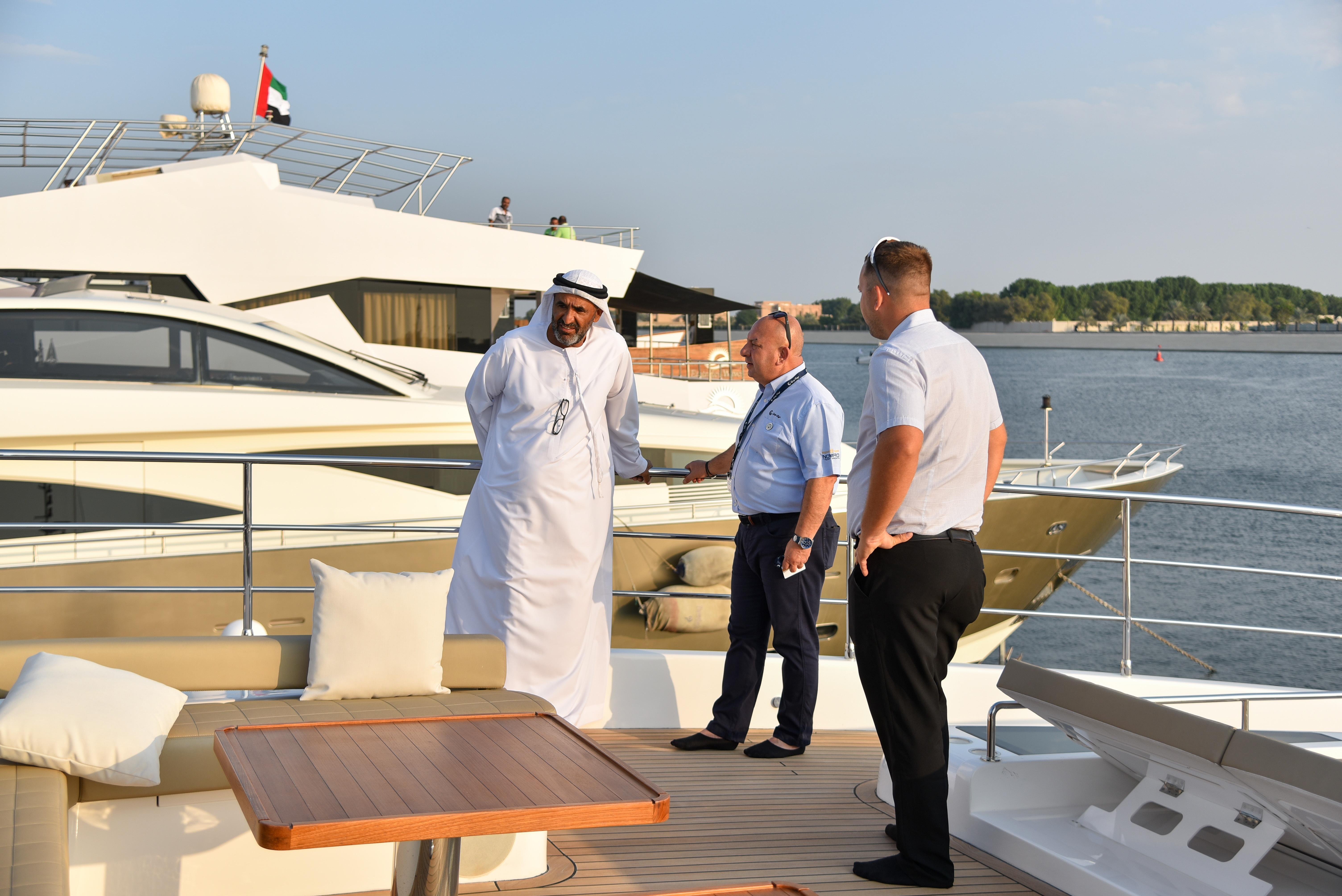 Gulf Craft at Abu Dhabi Boat Show 2018 Day 3 (8).jpg