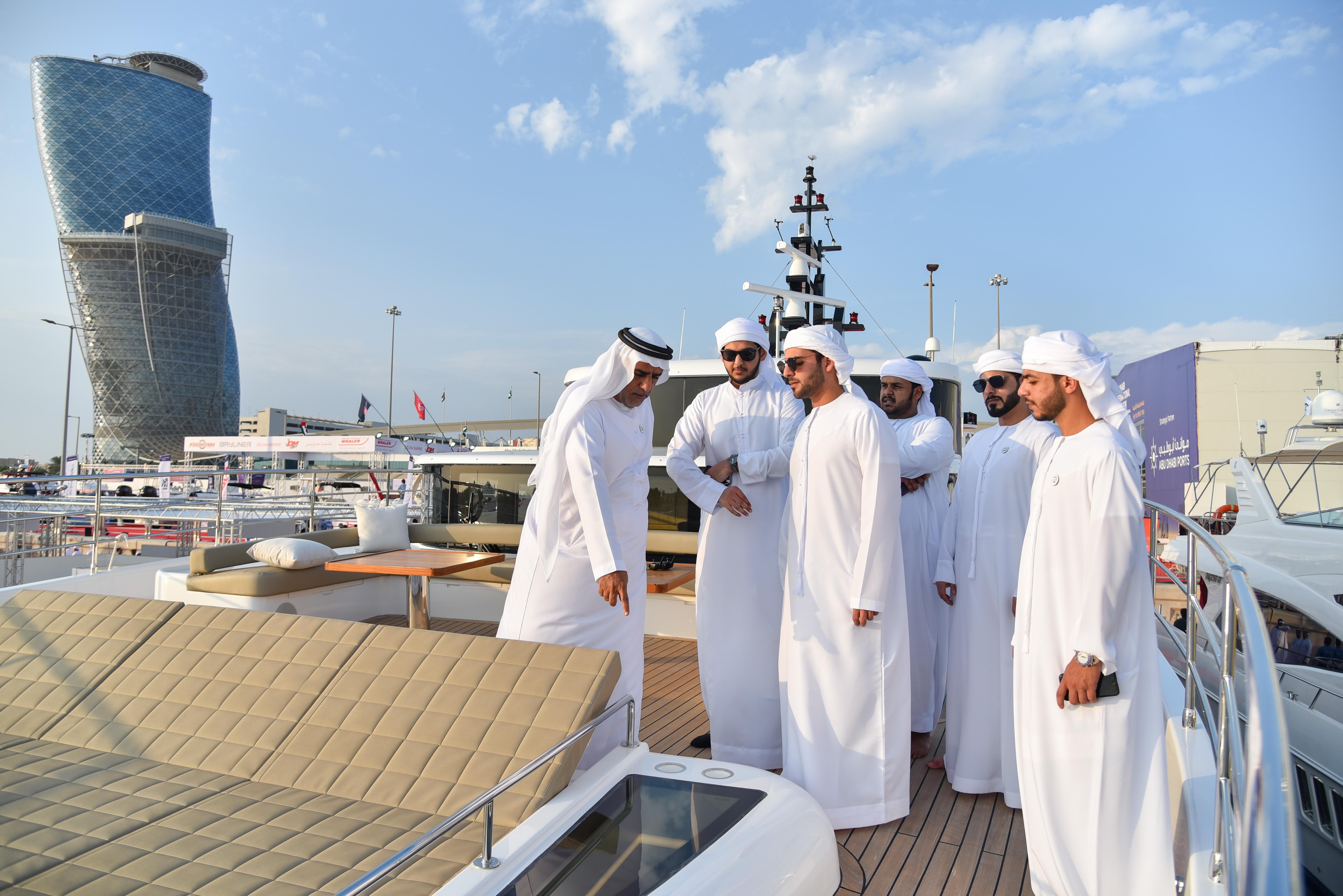 Gulf Craft at Abu Dhabi Boat Show 2018 Day 3 (9).jpg