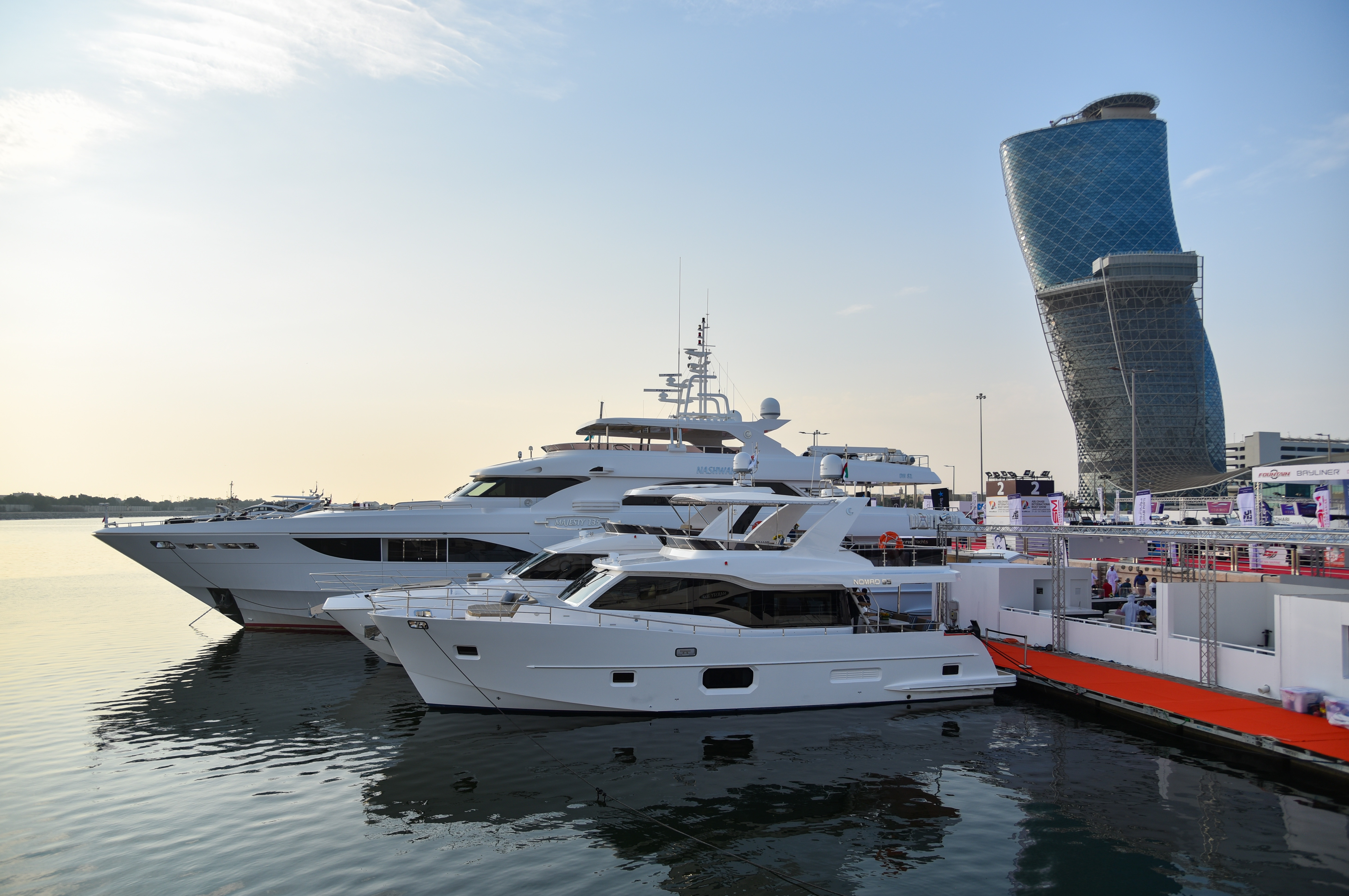 Gulf Craft at Abu Dhabi Boat Show 2018 Day 2 (2).jpg