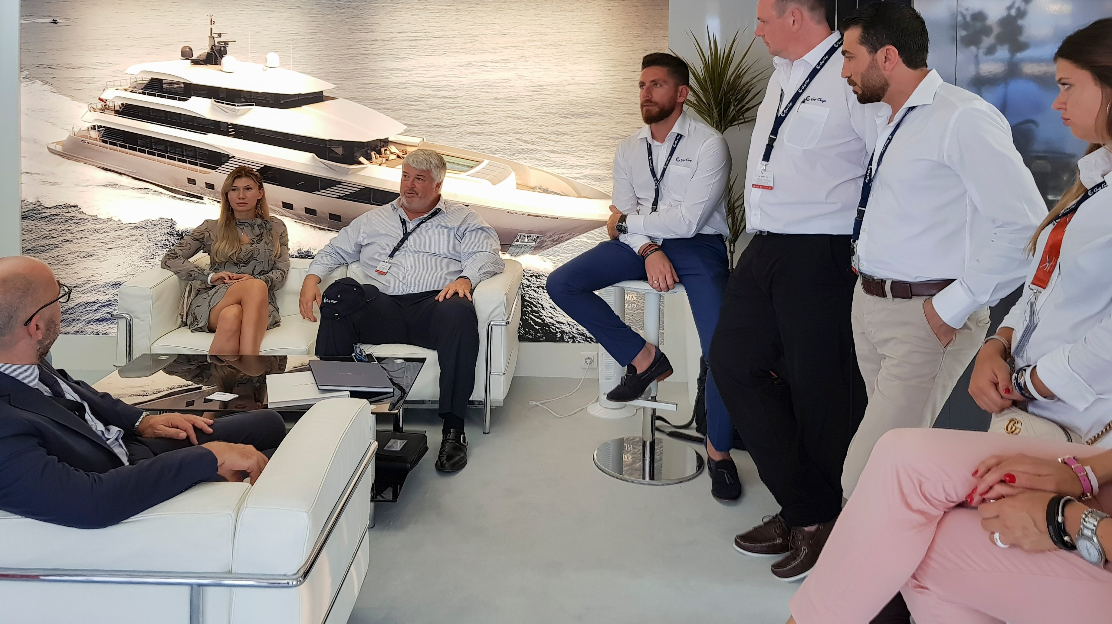 Gulf Craft at Cannes Yachting Festival 2018 Day 1 (10).jpg