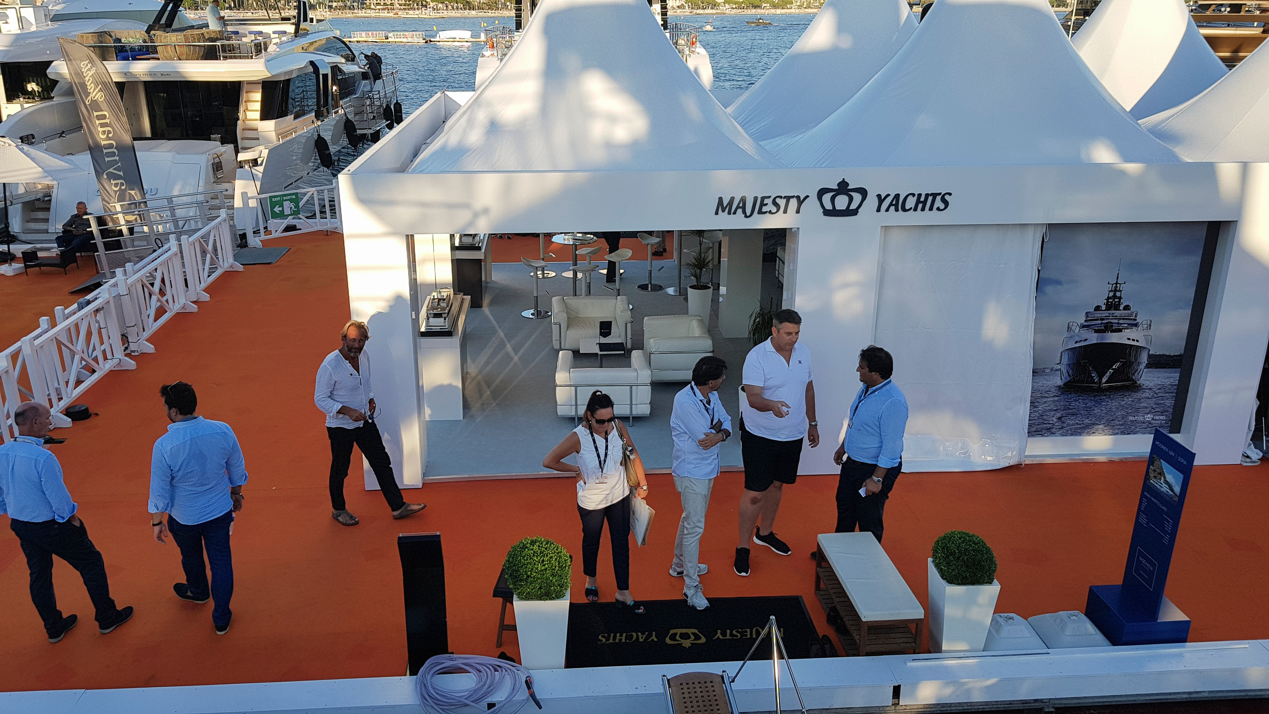 Gulf Craft at Cannes Yachting Festival 2018 Day 1 (4).jpg