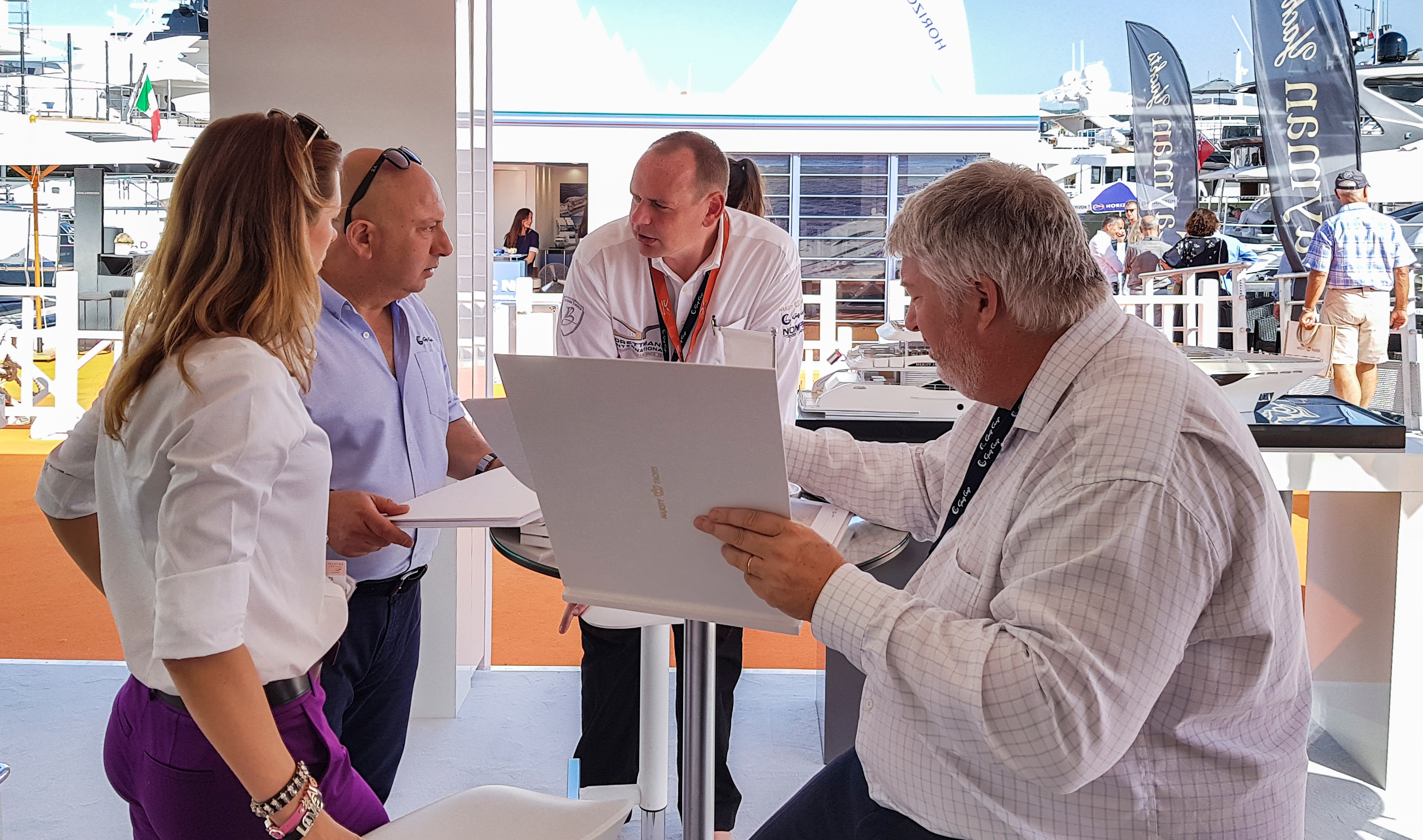 Gulf Craft at Cannes Yachting Festival 2018 Day 2 (14).jpg
