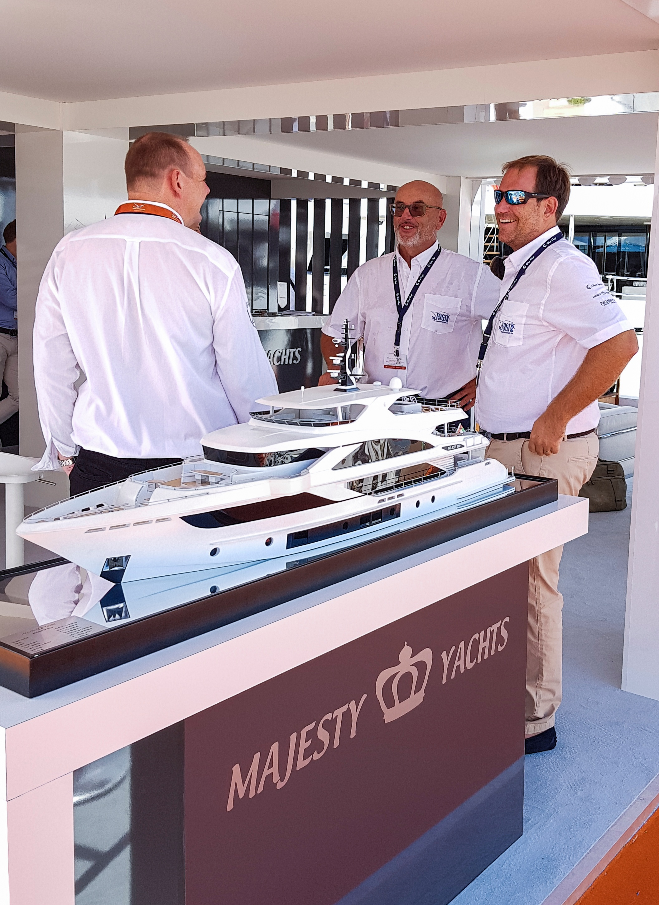 Gulf Craft at Cannes Yachting Festival 2018 Day 2 (17).jpg