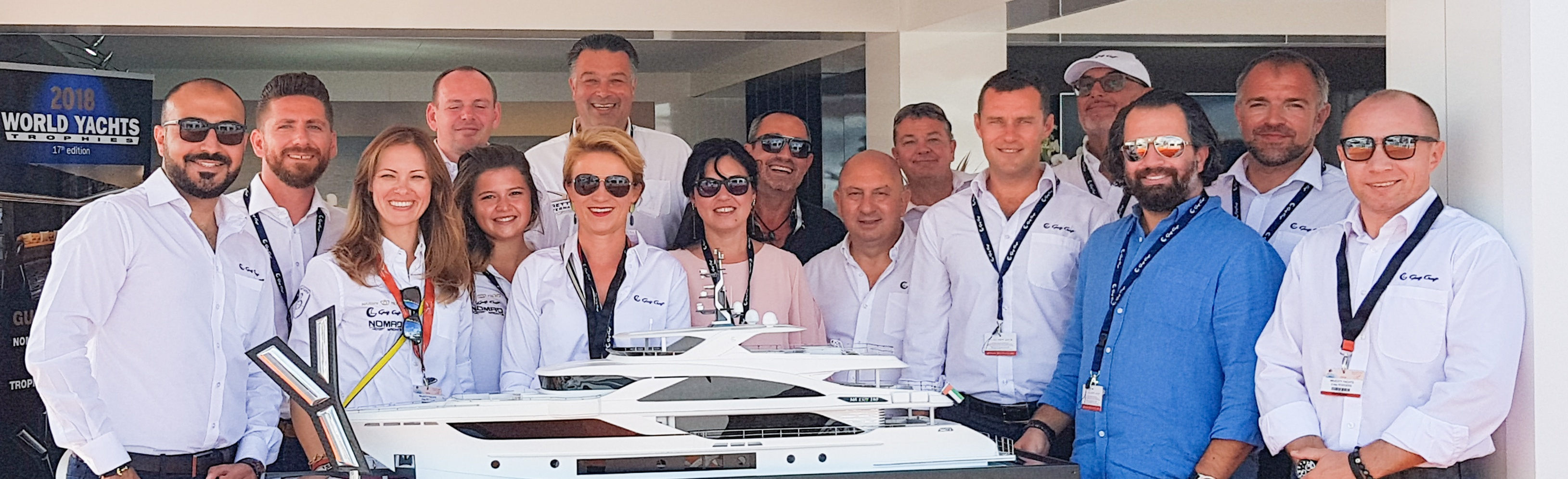 Gulf-Craft-team,-Cannes-Yachting-Festival
