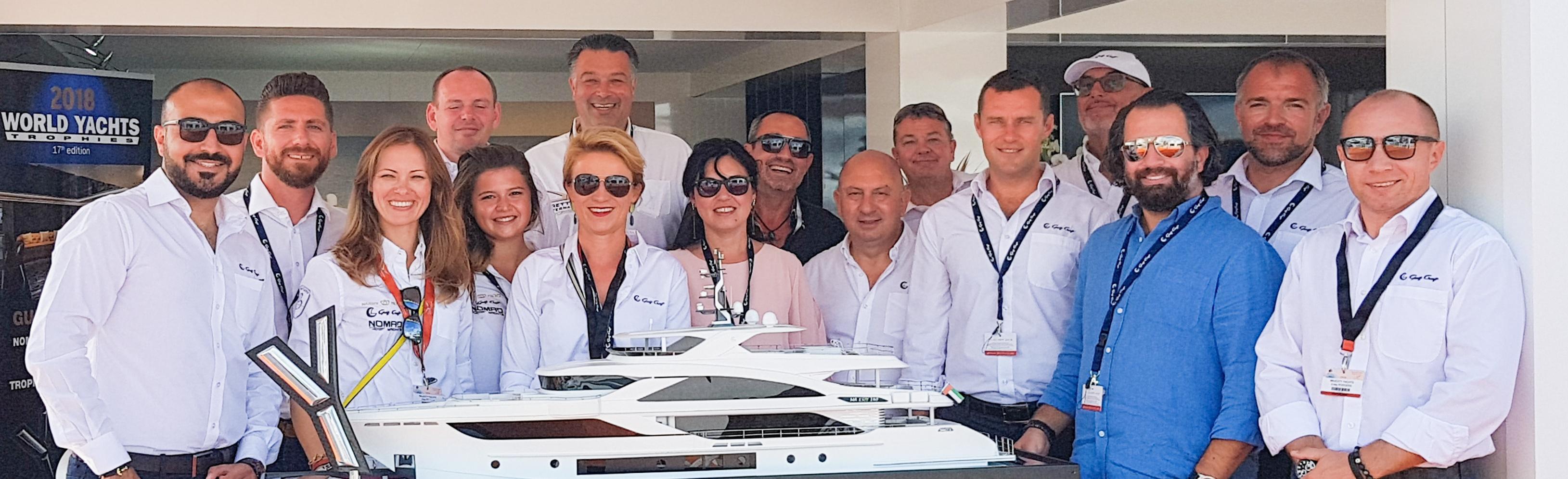 Gulf-Craft-team,-Cannes-Yachting-Festival