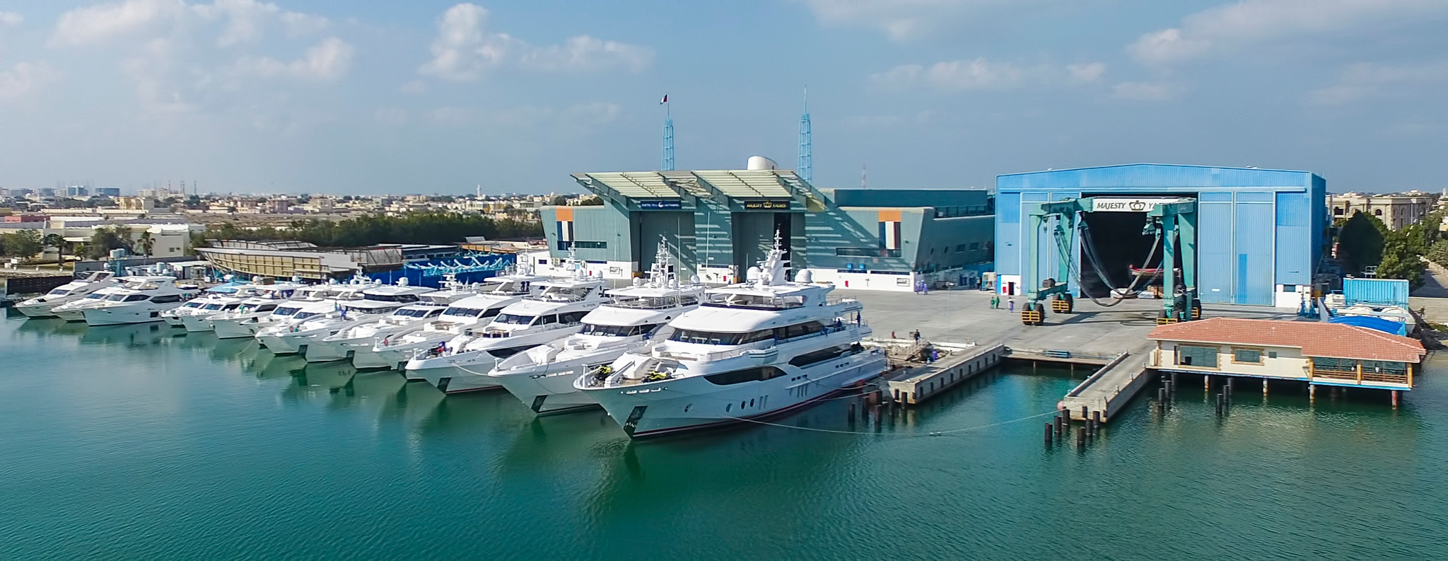 Gulf Craft Prepares its fleet for Dubai International Boat Show 2017 (4).jpg