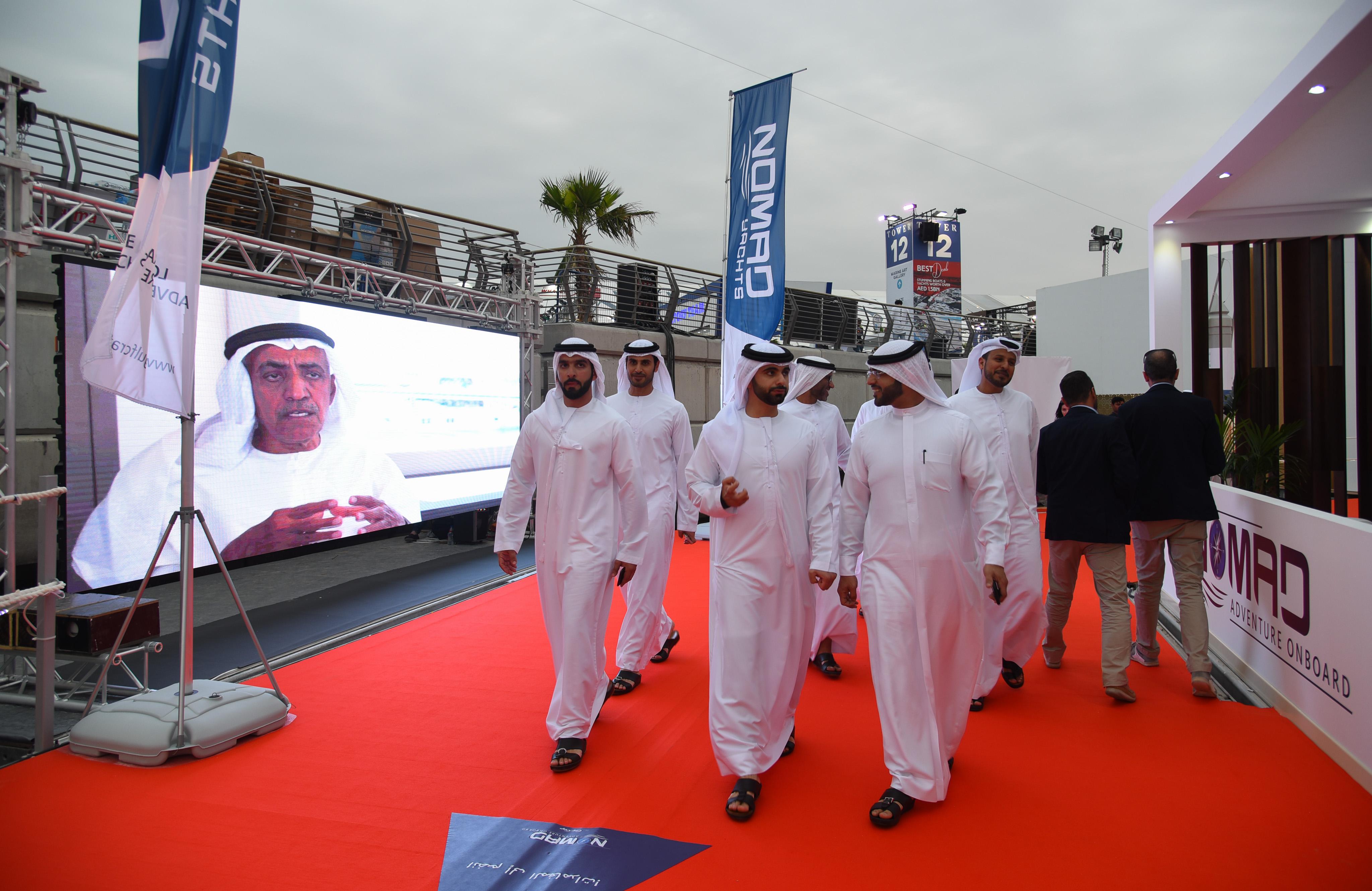 HH Sheikh Mansour bin Mohammed bin Rashid Al Maktoum visits Gulf Craft