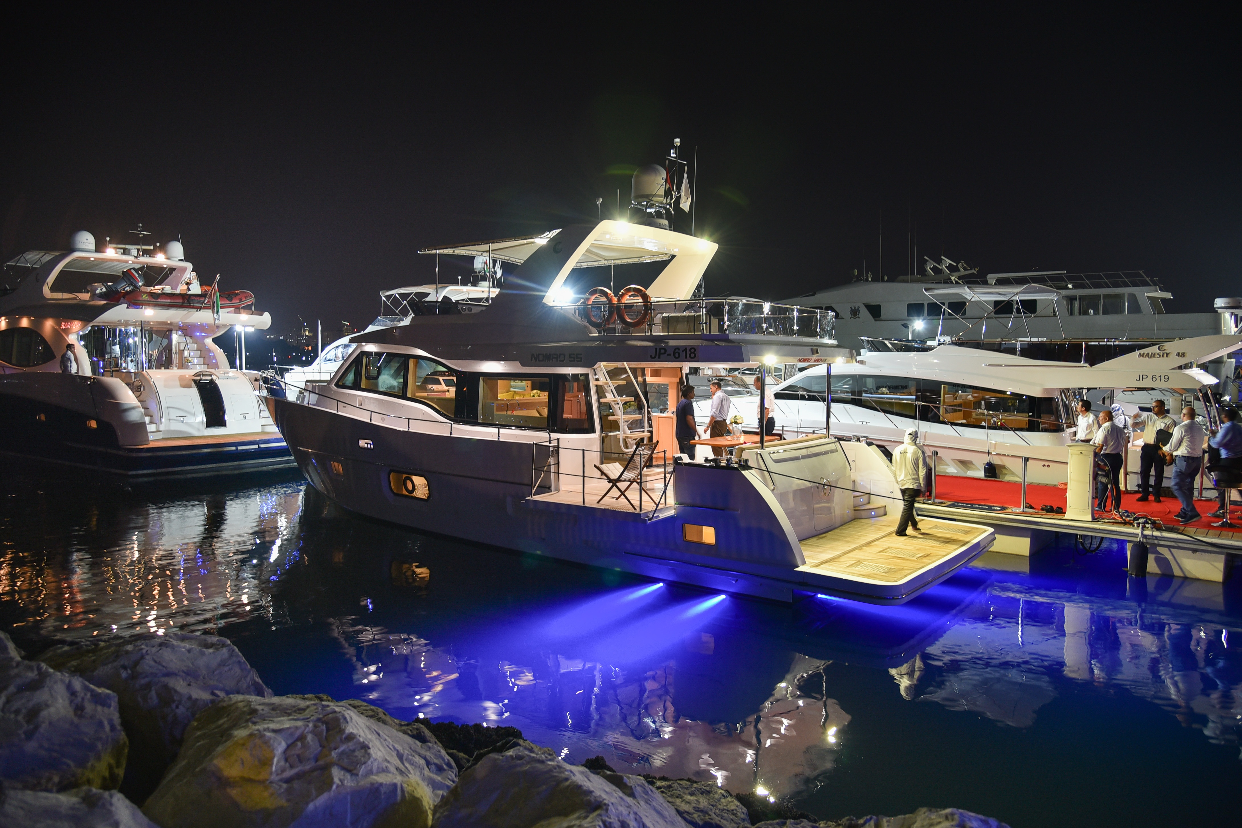 Gulf Craft at the Dubai Pre-owned Boat Show 2017 Day 1 (29).jpg
