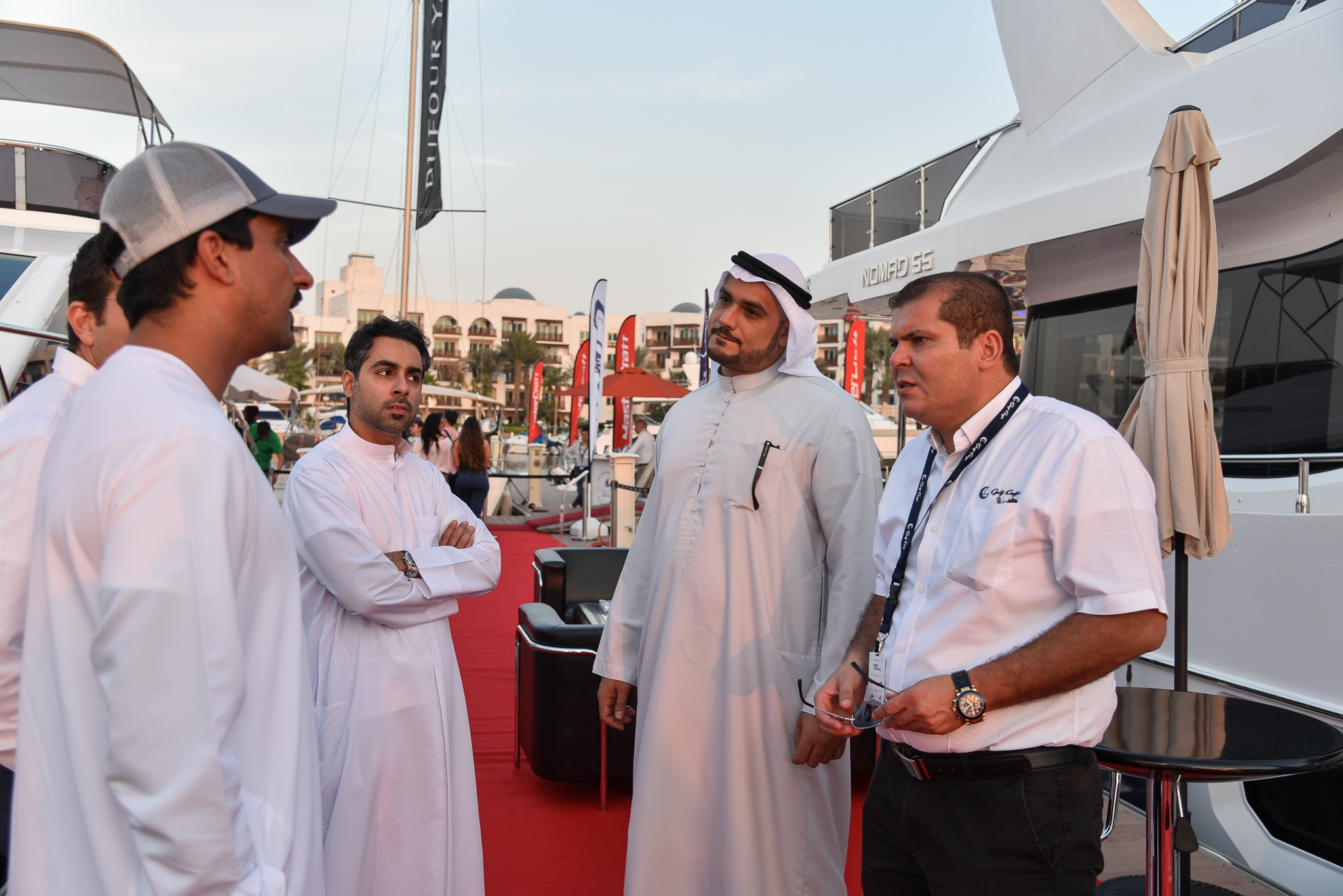 Gulf Craft at the Dubai Pre-owned Boat Show 2017 Day 2 (11).jpg