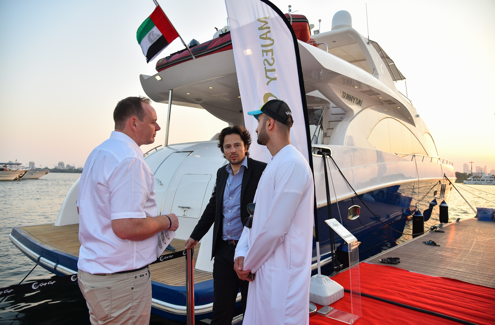 Gulf Craft at the Dubai Pre-owned Boat Show 2017 Day 2 (12).jpg