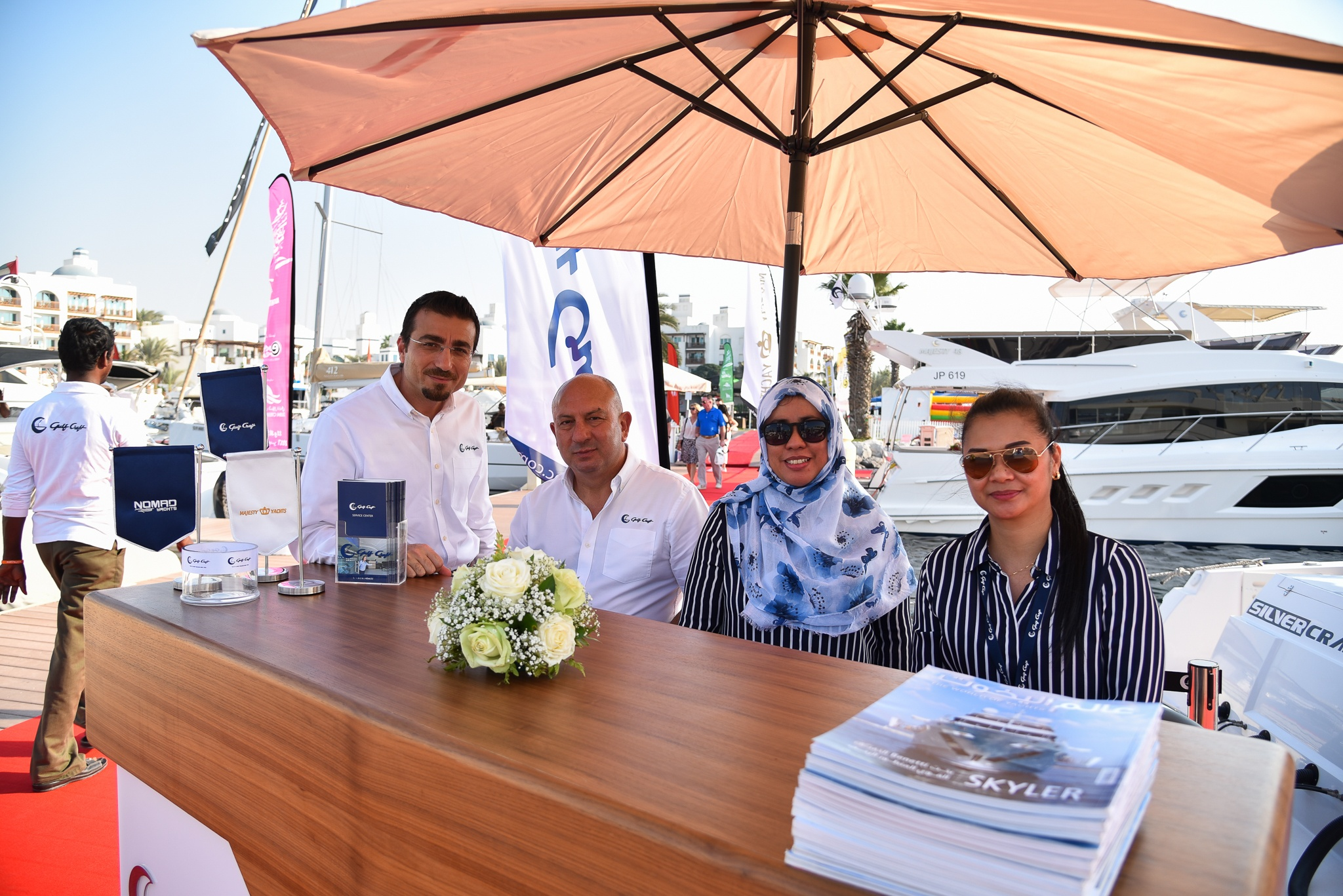 Gulf Craft at the Dubai Pre-owned Boat Show 2017 Day 2 (3).jpg