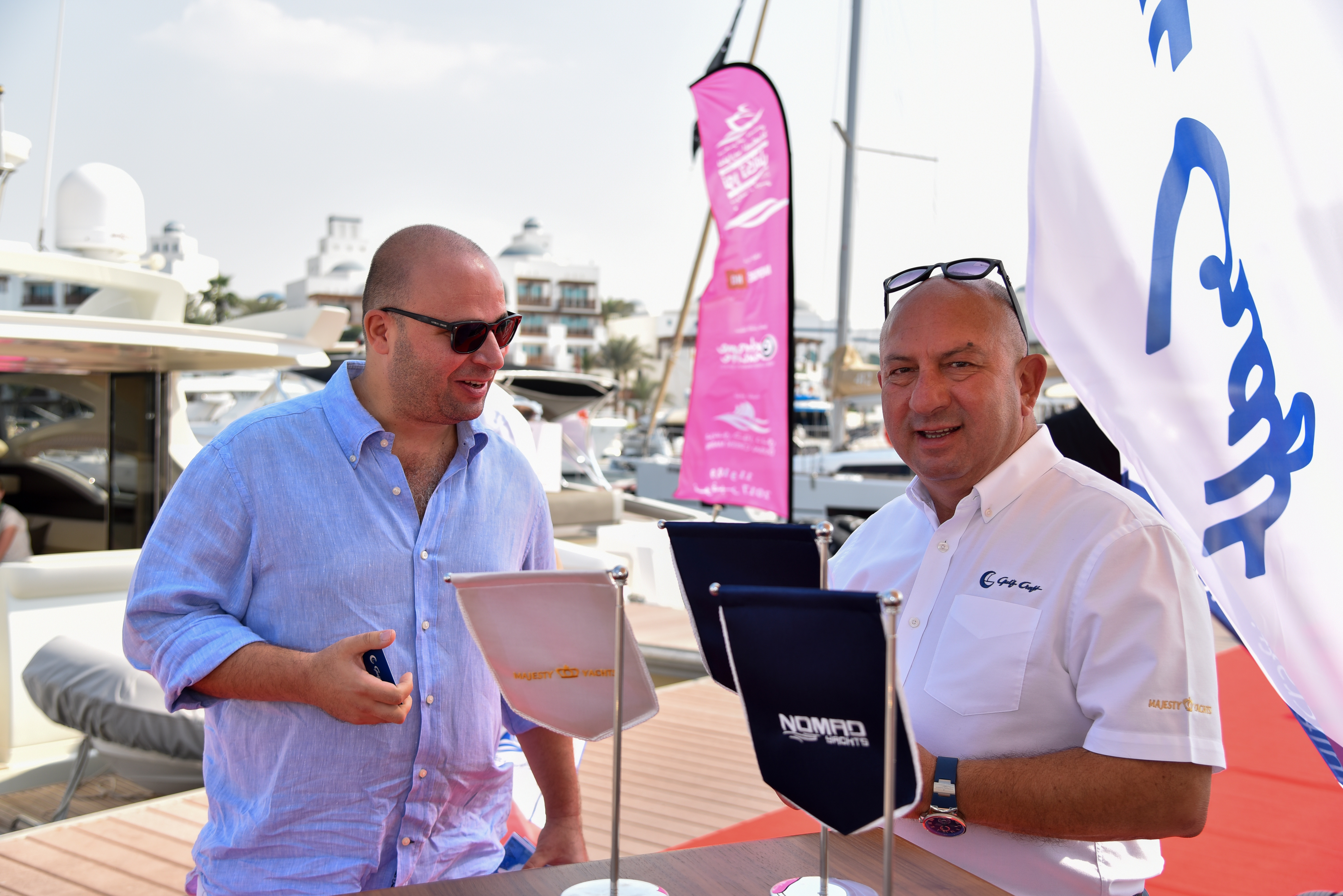 Gulf Craft at the Dubai Pre-owned Boat Show 2017 Day 3 (3).jpg