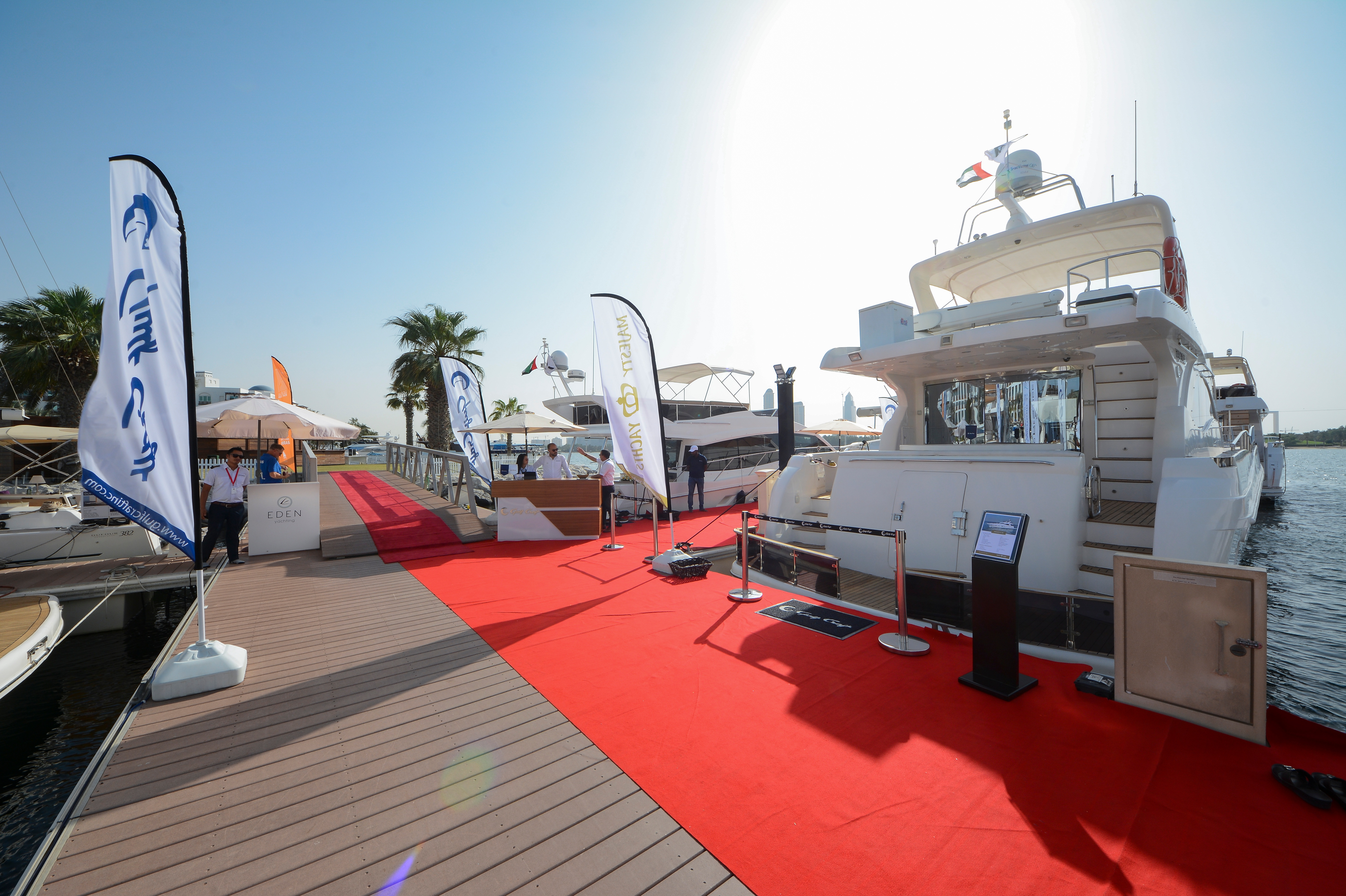 Gulf Craft at Dubai Pre-Owned Boat Show 2018 (6).jpg