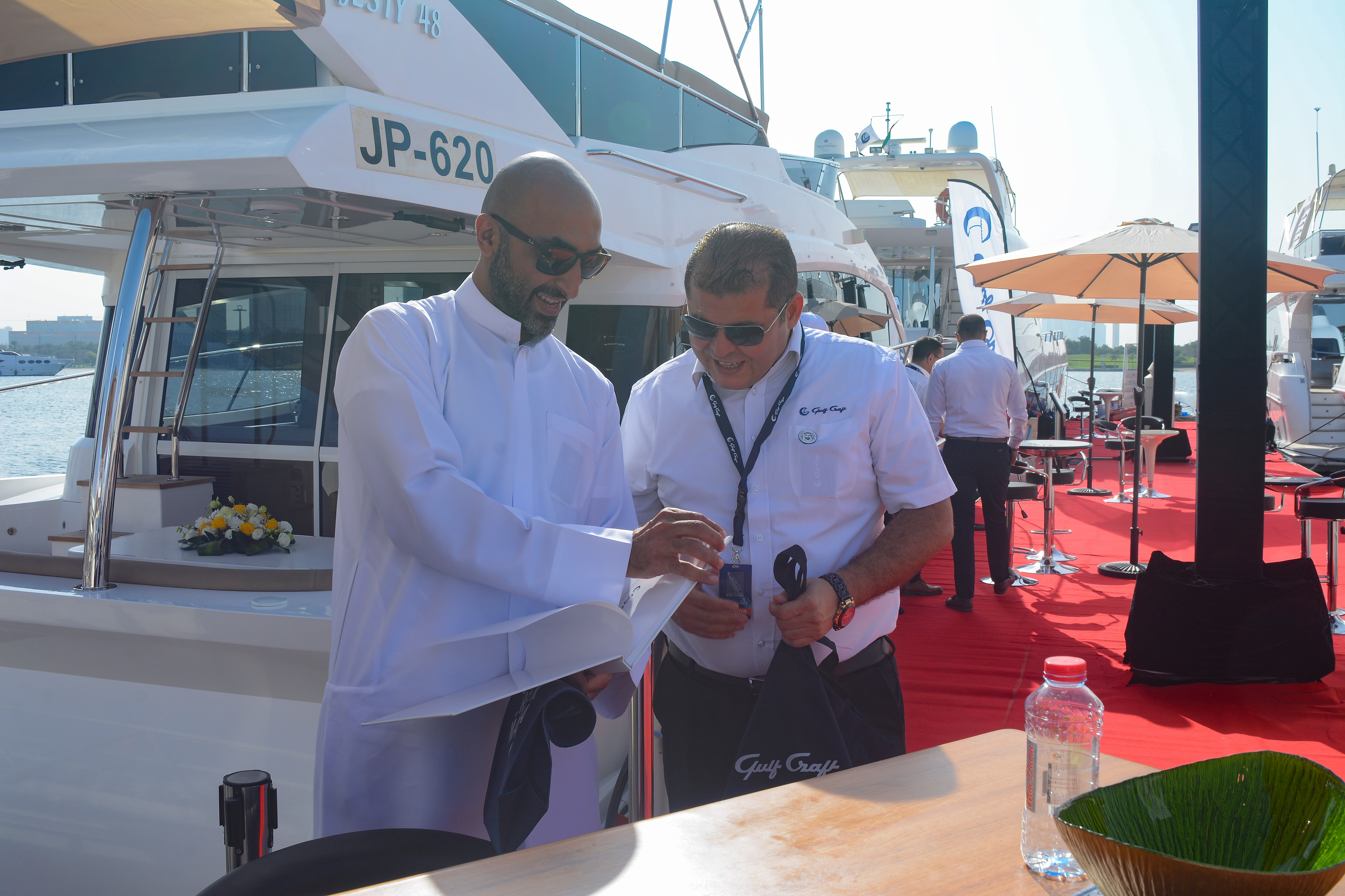 Gulf Craft at Dubai Pre-Owned Boat Show 2018 (8).jpg