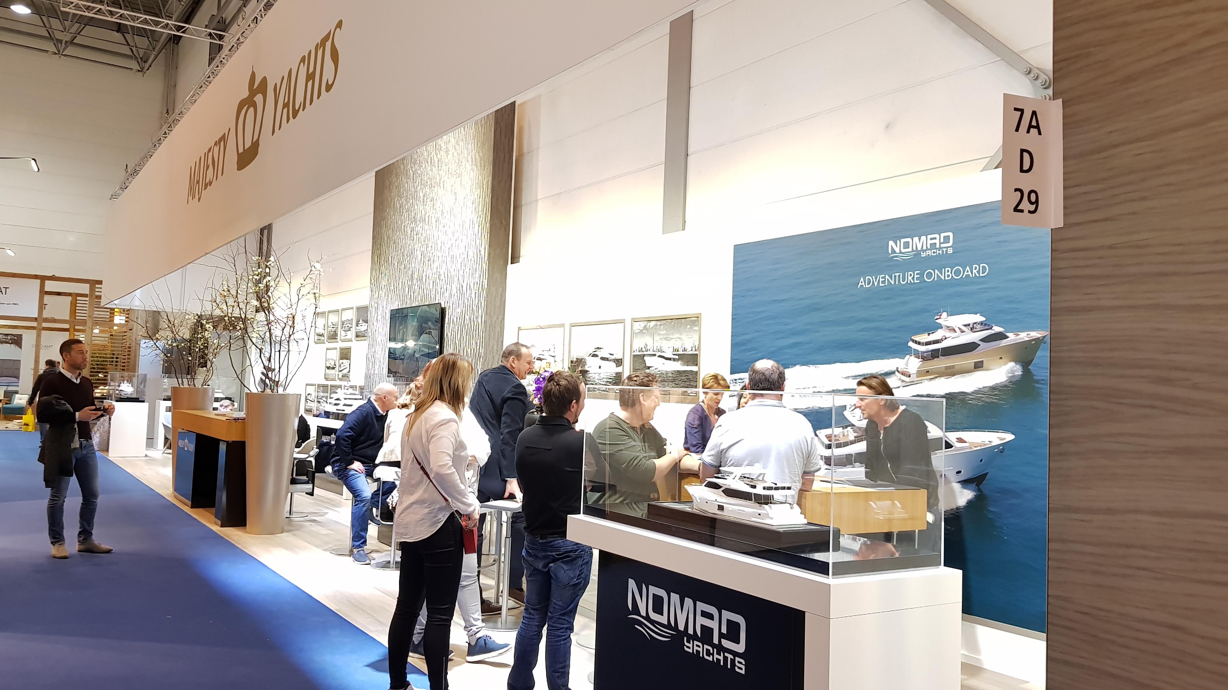 Gulf Craft stand, Dusseldorf Boat Show 2019