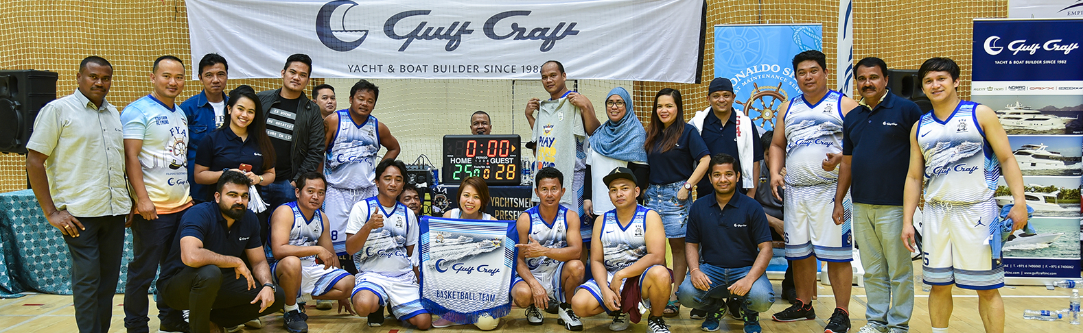 Gulf Craft, FYA Basketball