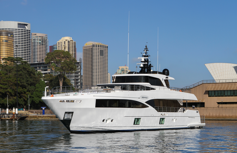 Majesty 100-3 MY Oneworld Sydney Harbour 7 April 2018 Richard Morris Australian Superyachts (229).jpg