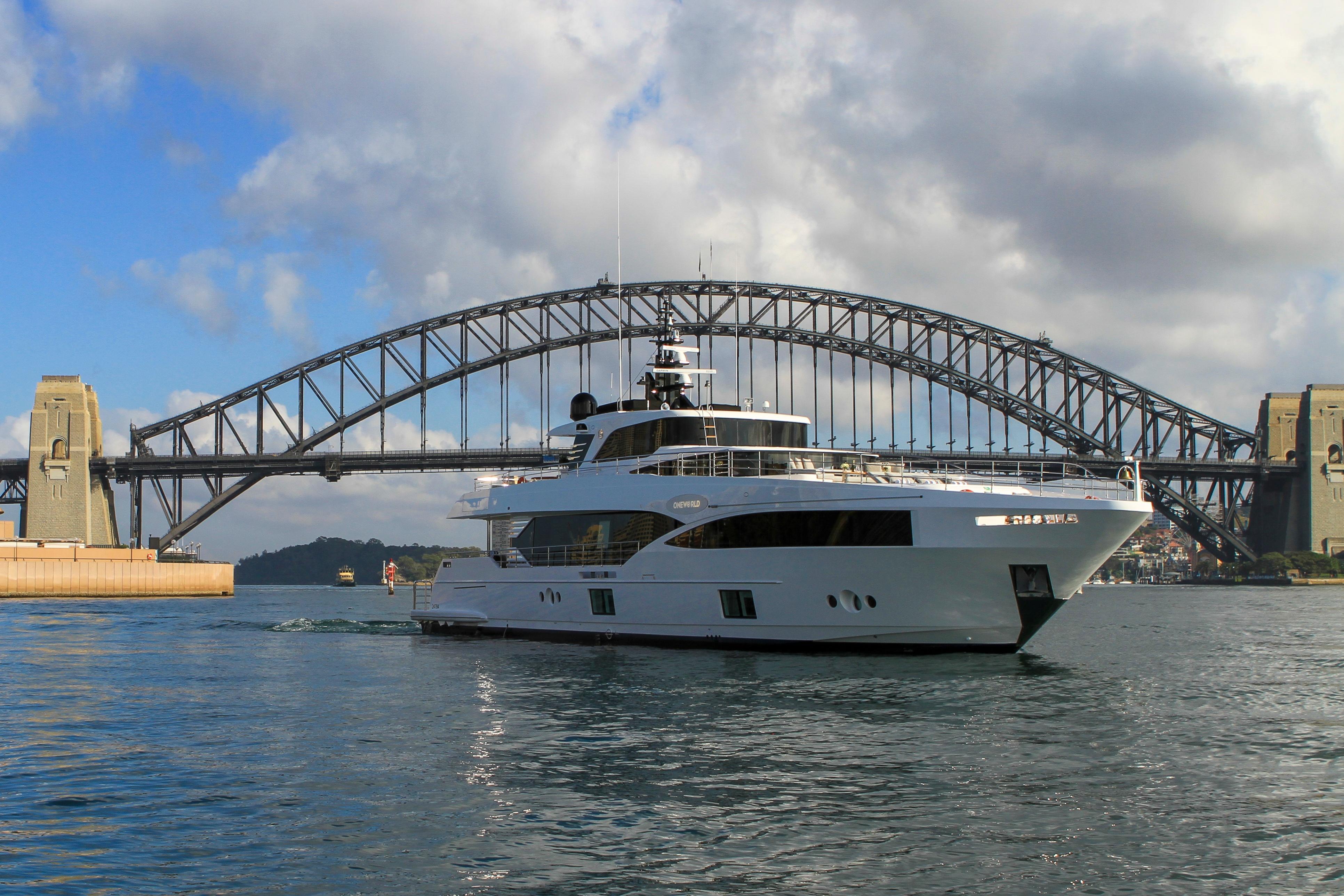 Majesty 100-3 MY Oneworld Sydney Harbour 7 April 2018 Richard Morris Australian Superyachts (294).jpg