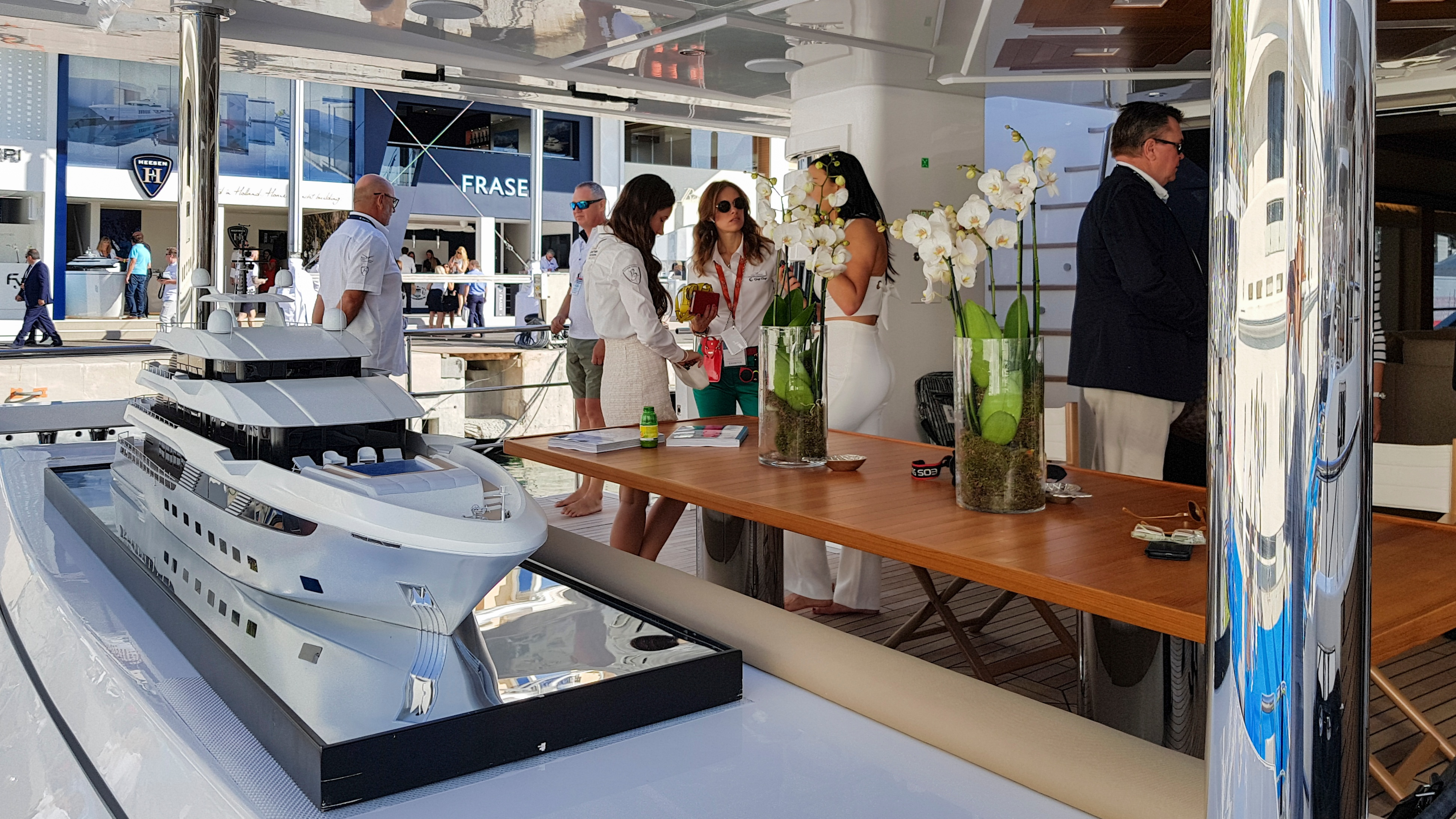 Gulf Craft at Monaco Yacht Show 2018 Day 1 (1).jpg