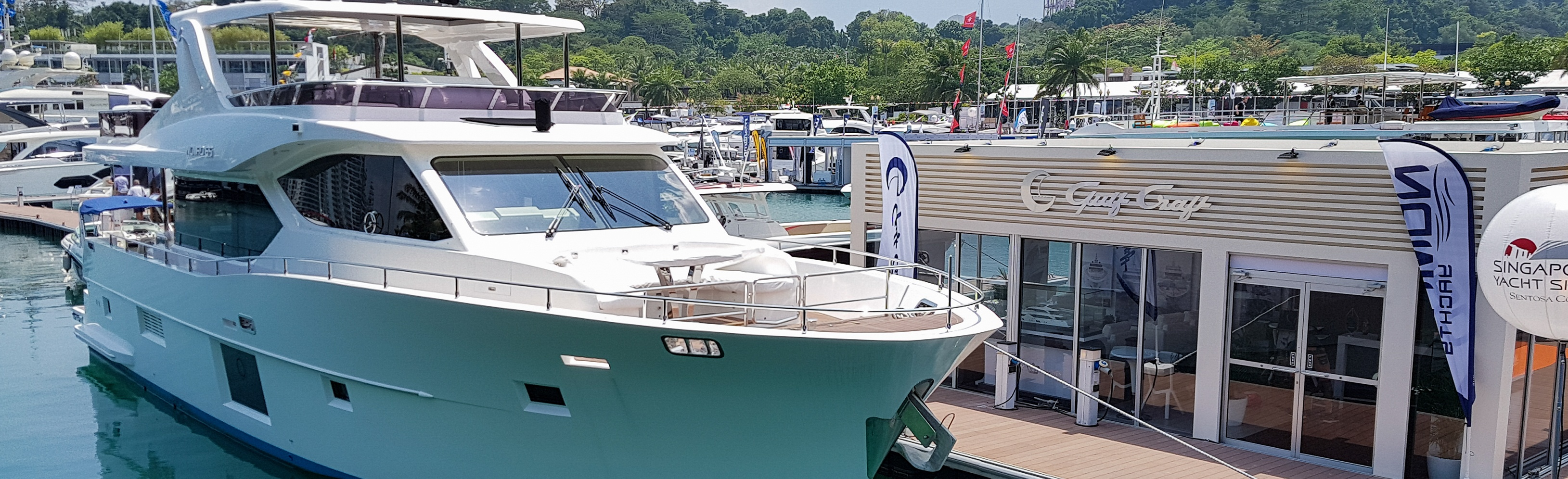 Gulf-Craft,-Singapore-Yacht-Show-2018