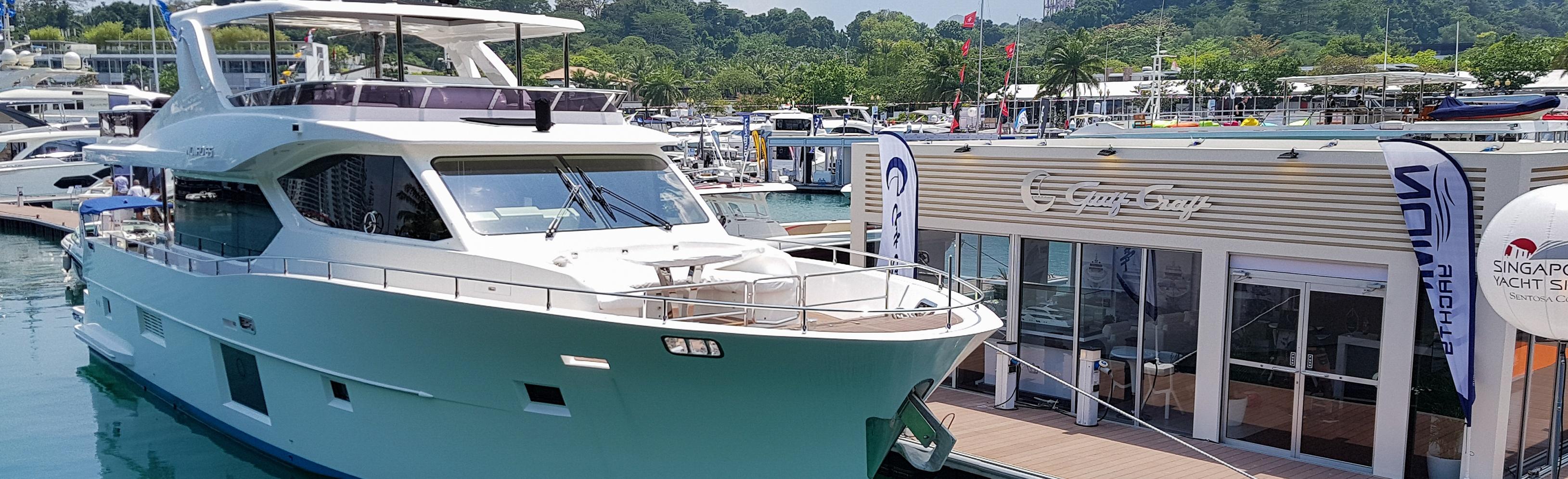 Gulf-Craft,-Singapore-Yacht-Show-2018