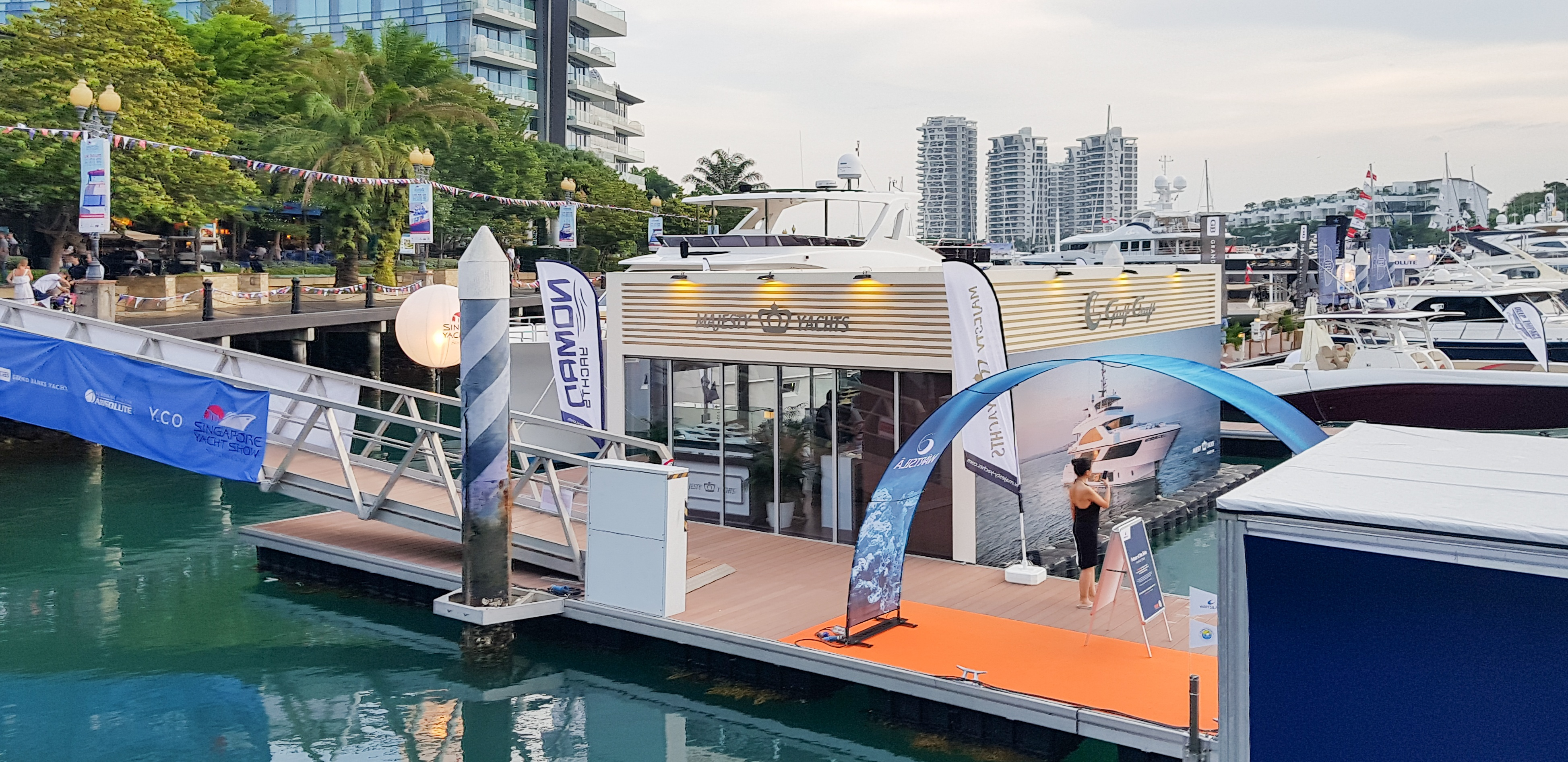 Gulf Craft at Singapore Yacht Show 2018 Day 2 (7).jpg