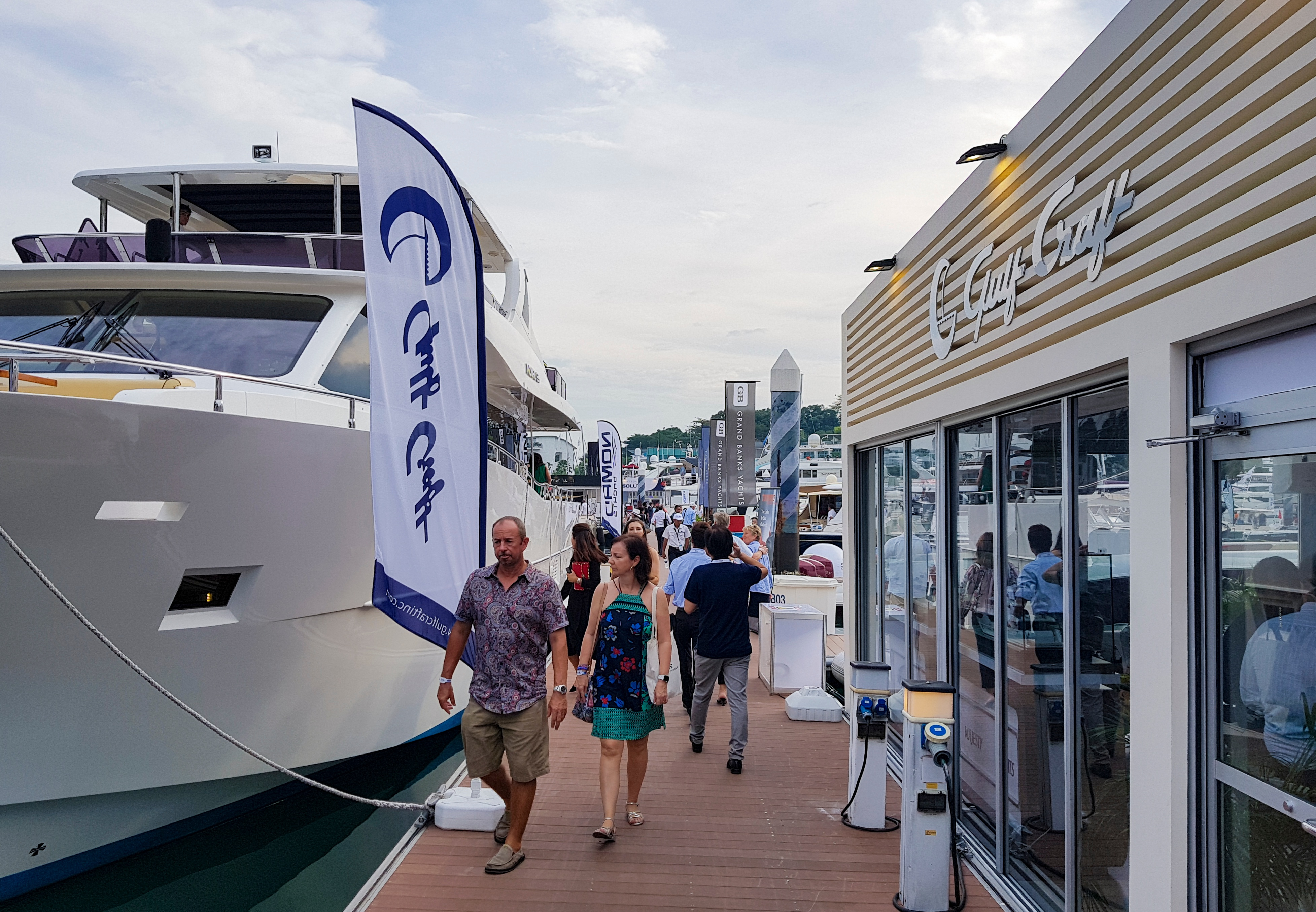 Gulf Craft at Singapore Yacht Show 2018 Day 3 (15).jpg