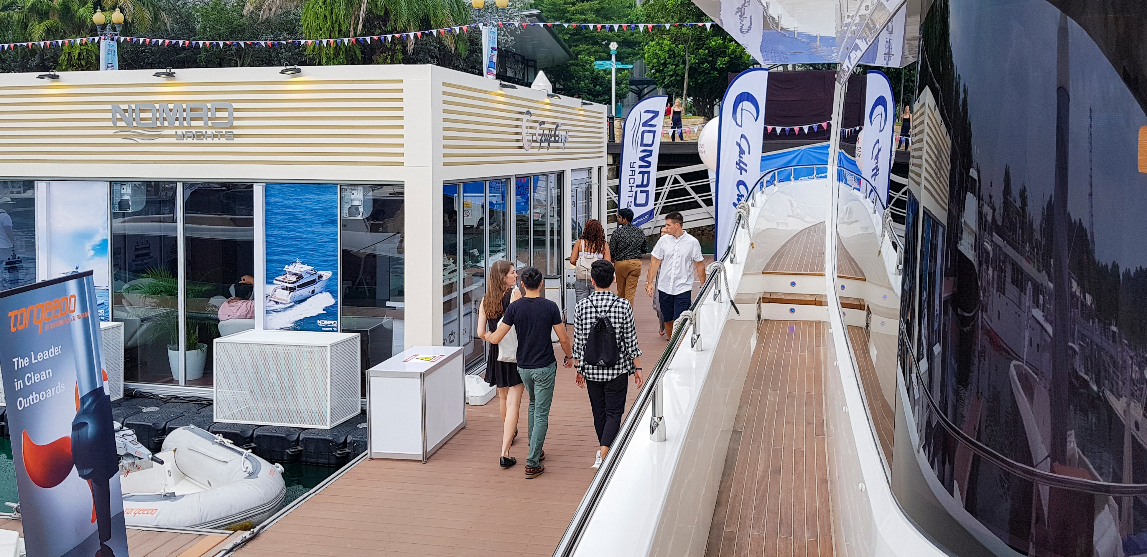 Gulf Craft at Singapore Yacht Show 2018 Day 3 (6).jpg