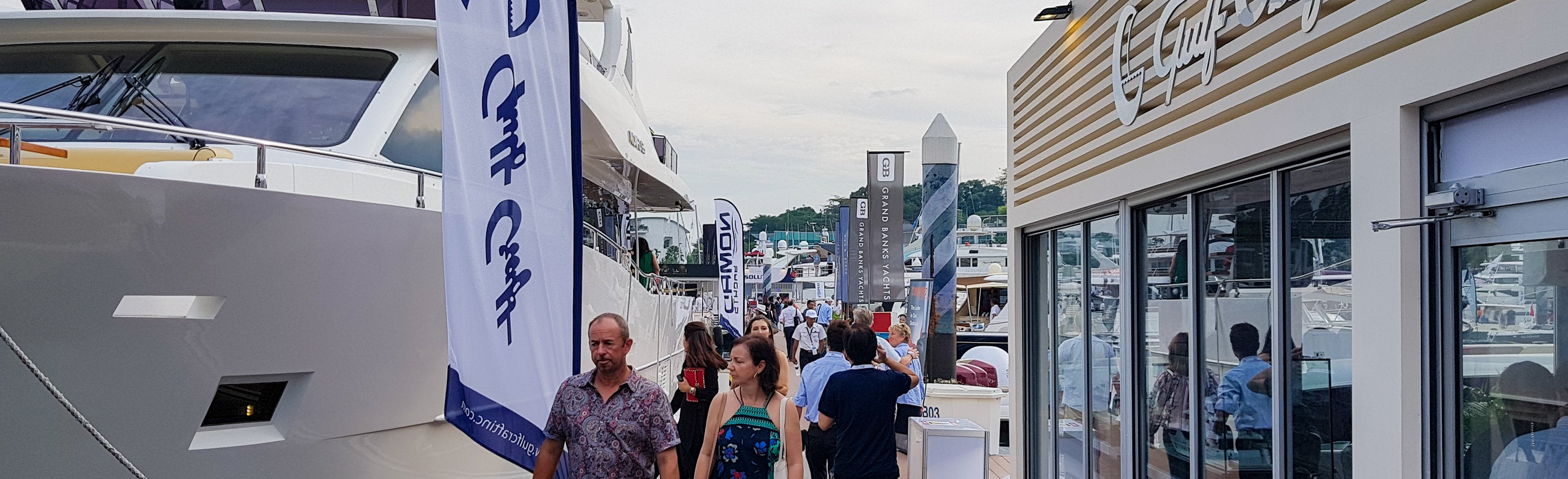 Singapore-Yacht-Show-2018,-Gulf-Craft