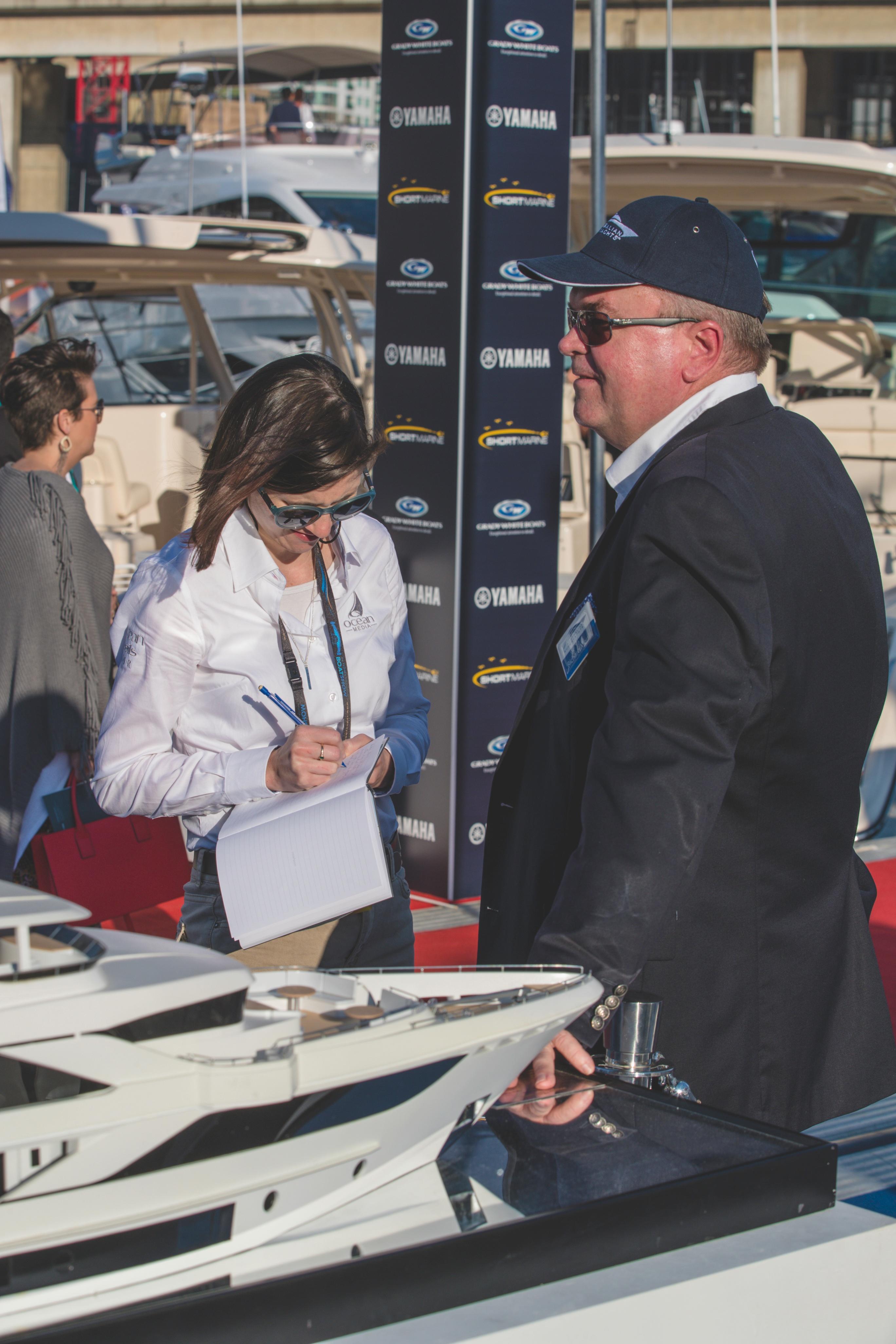 Gulf Craft at the Sydney Boat Show, Day 2.jpg