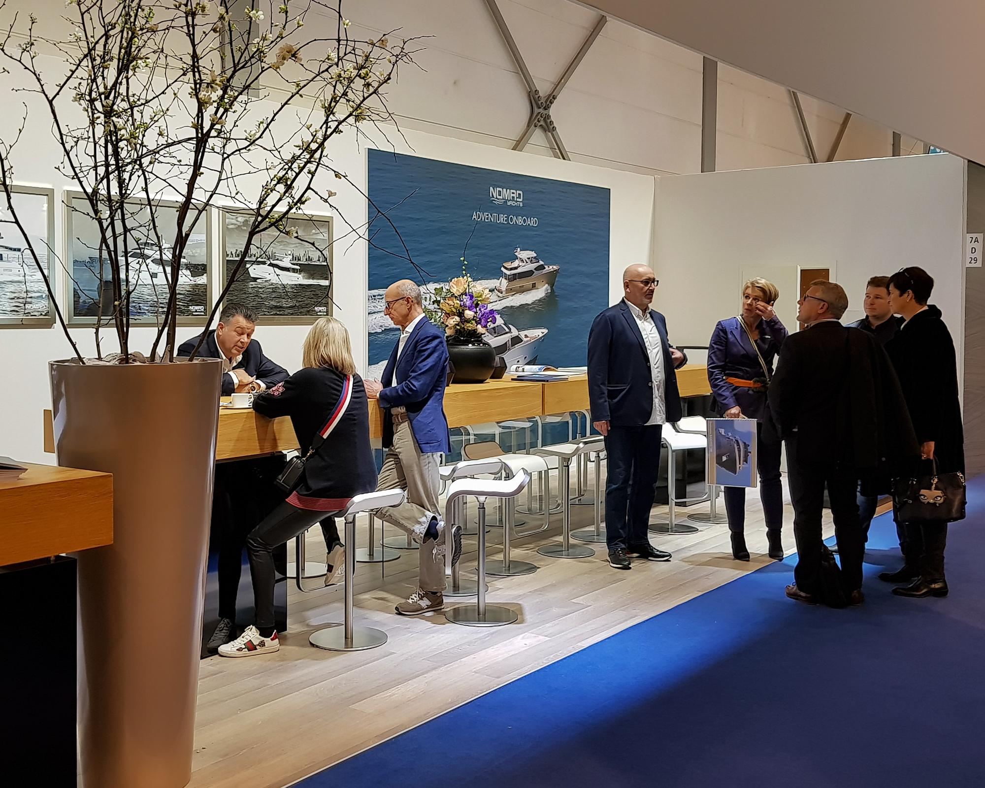 Gulf Craft at Dusseldorf Boat Show