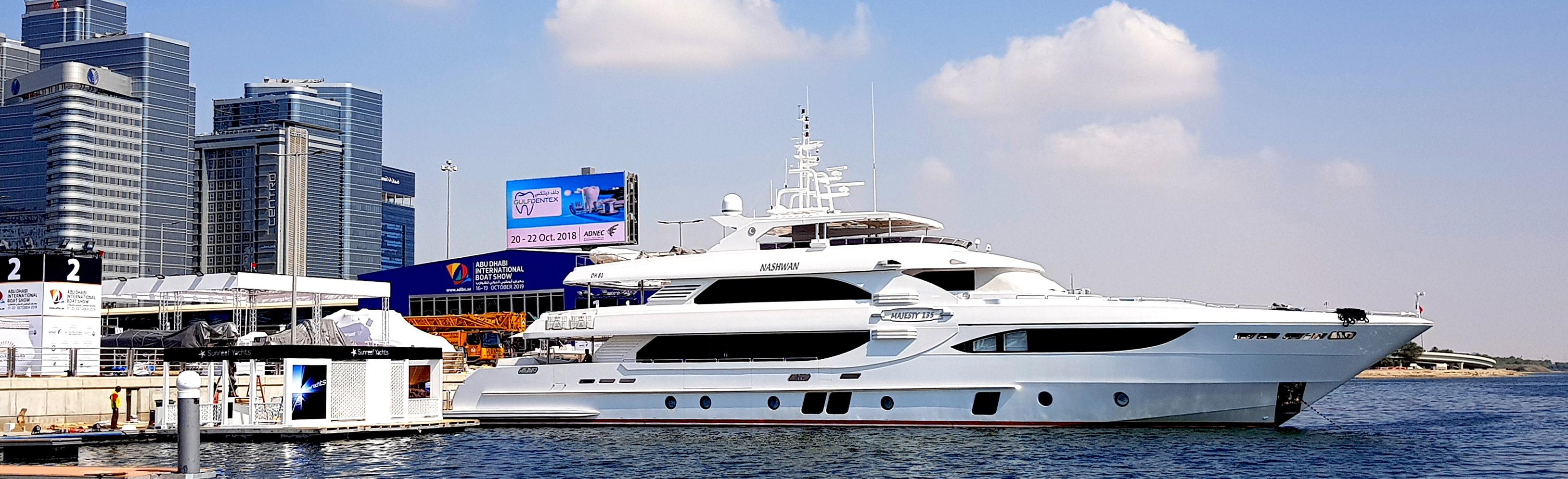 Majesty-135,-Abu-Dhabi-Boat-Show-2018
