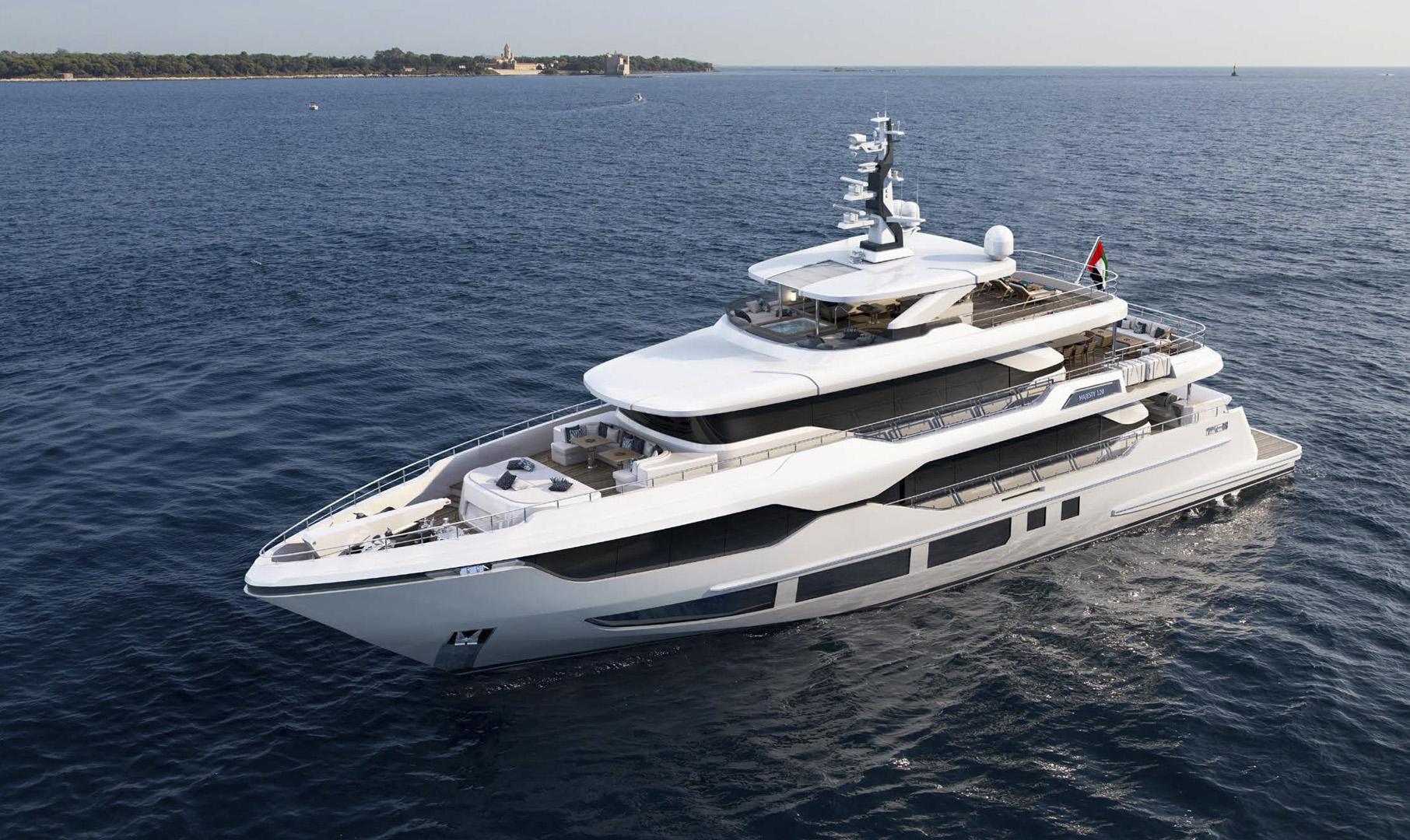 Majesty 120 - Representing the new era of Majesty Yachts