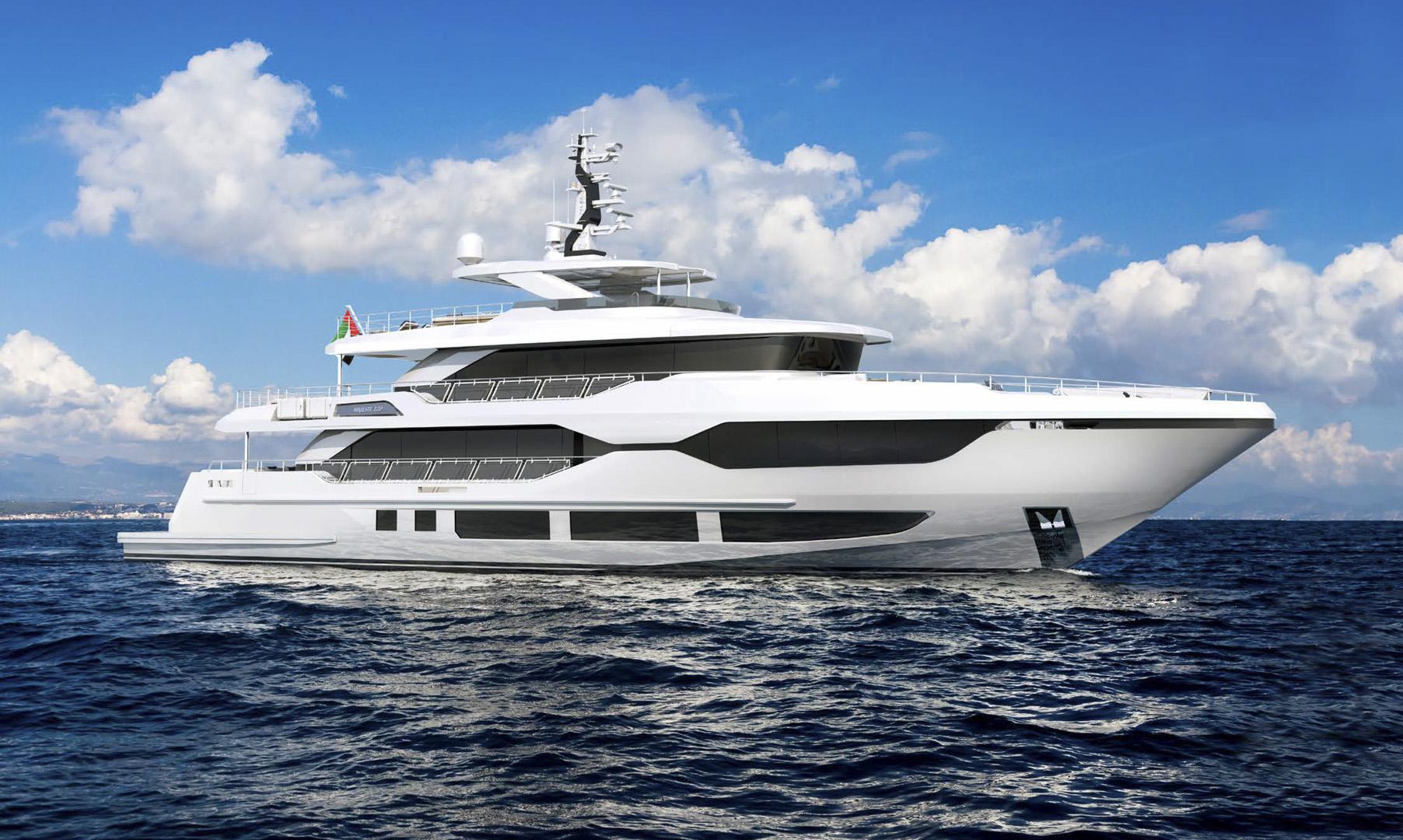 Majesty 120 - Latest addition to the Majesty Yachts Superyacht Collection