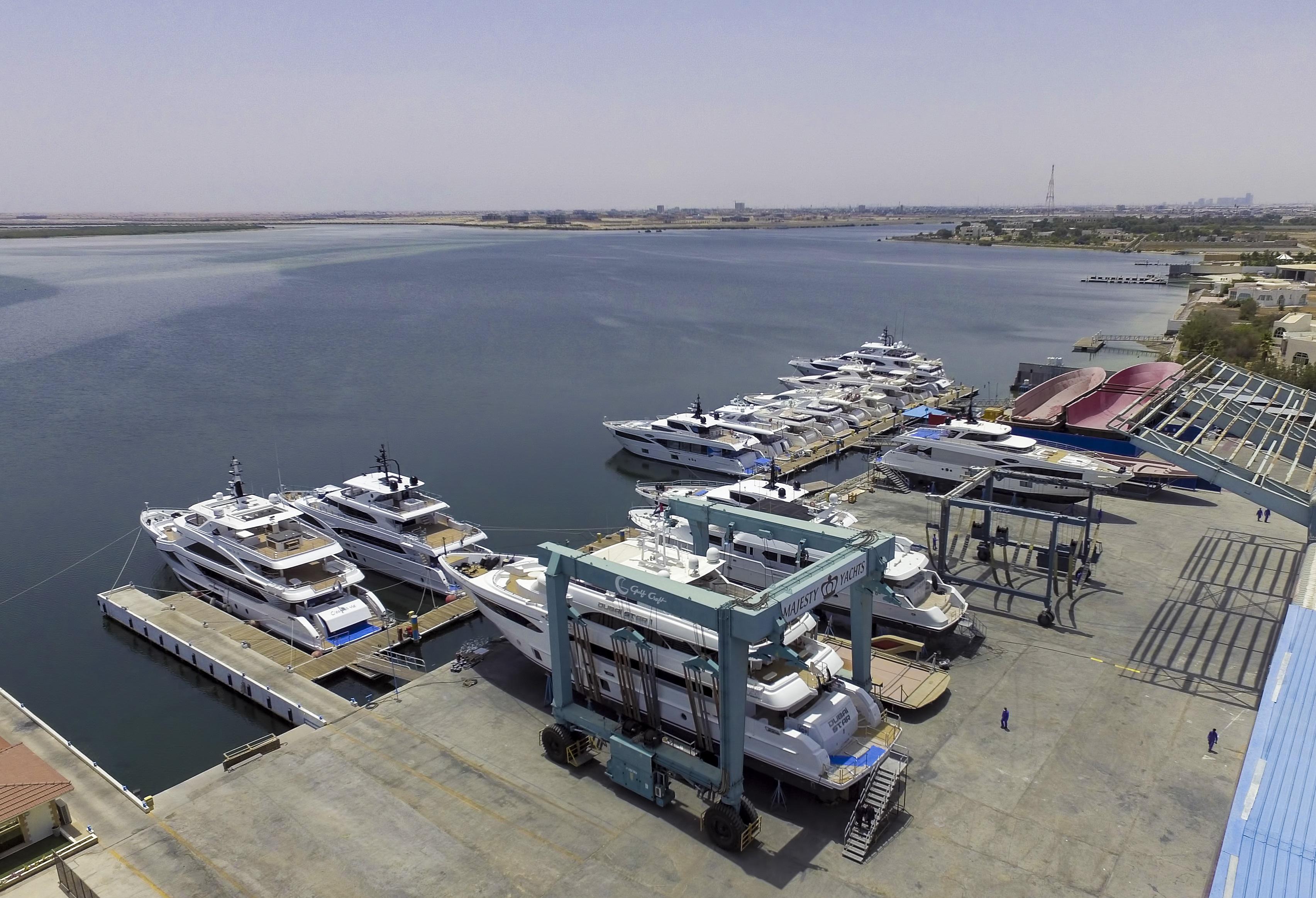 Majesty Yachts and Nomad Yachts shipyard 2018 (3)