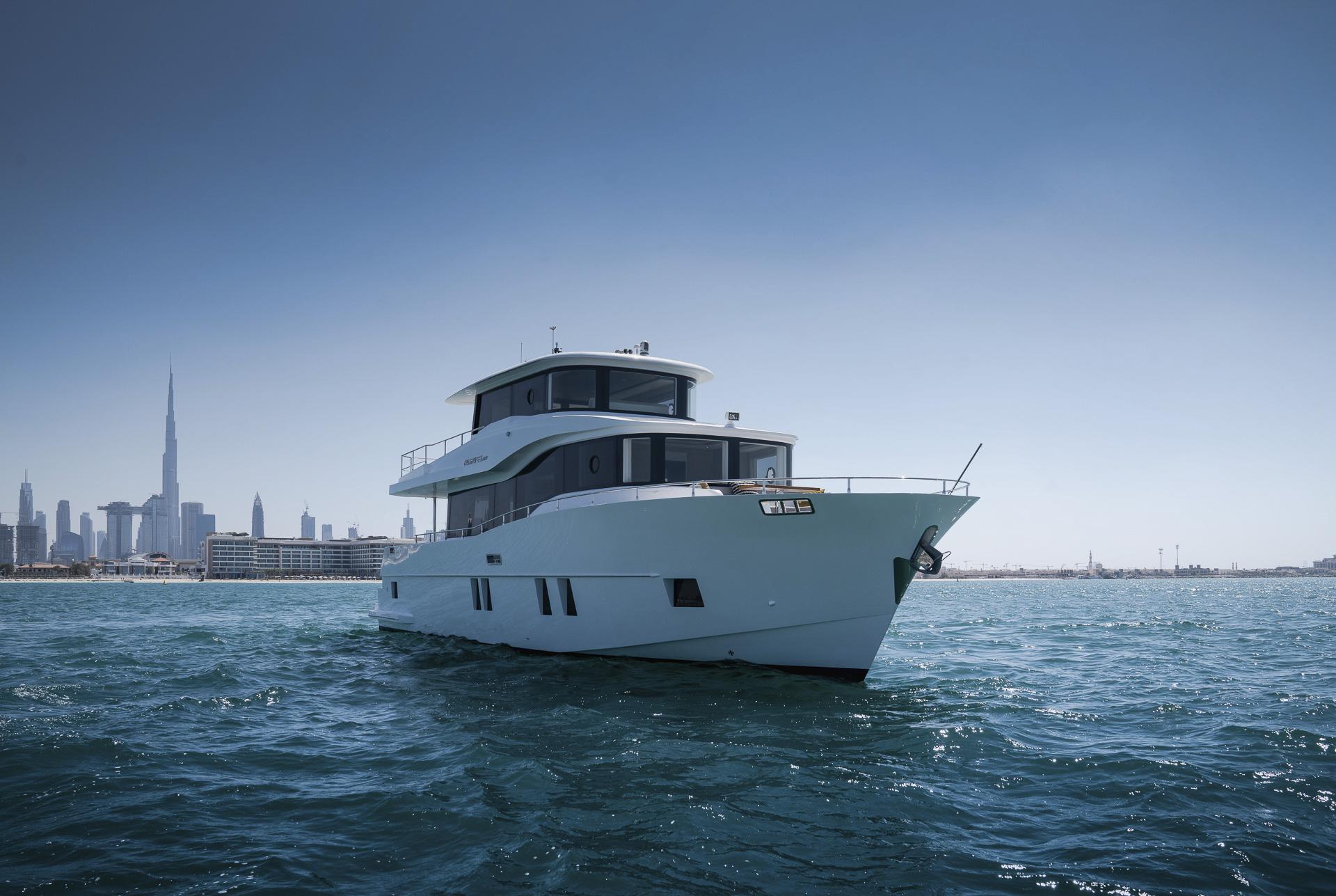 Nomad 65 SUV - Chic yet Powerful long-range Yacht