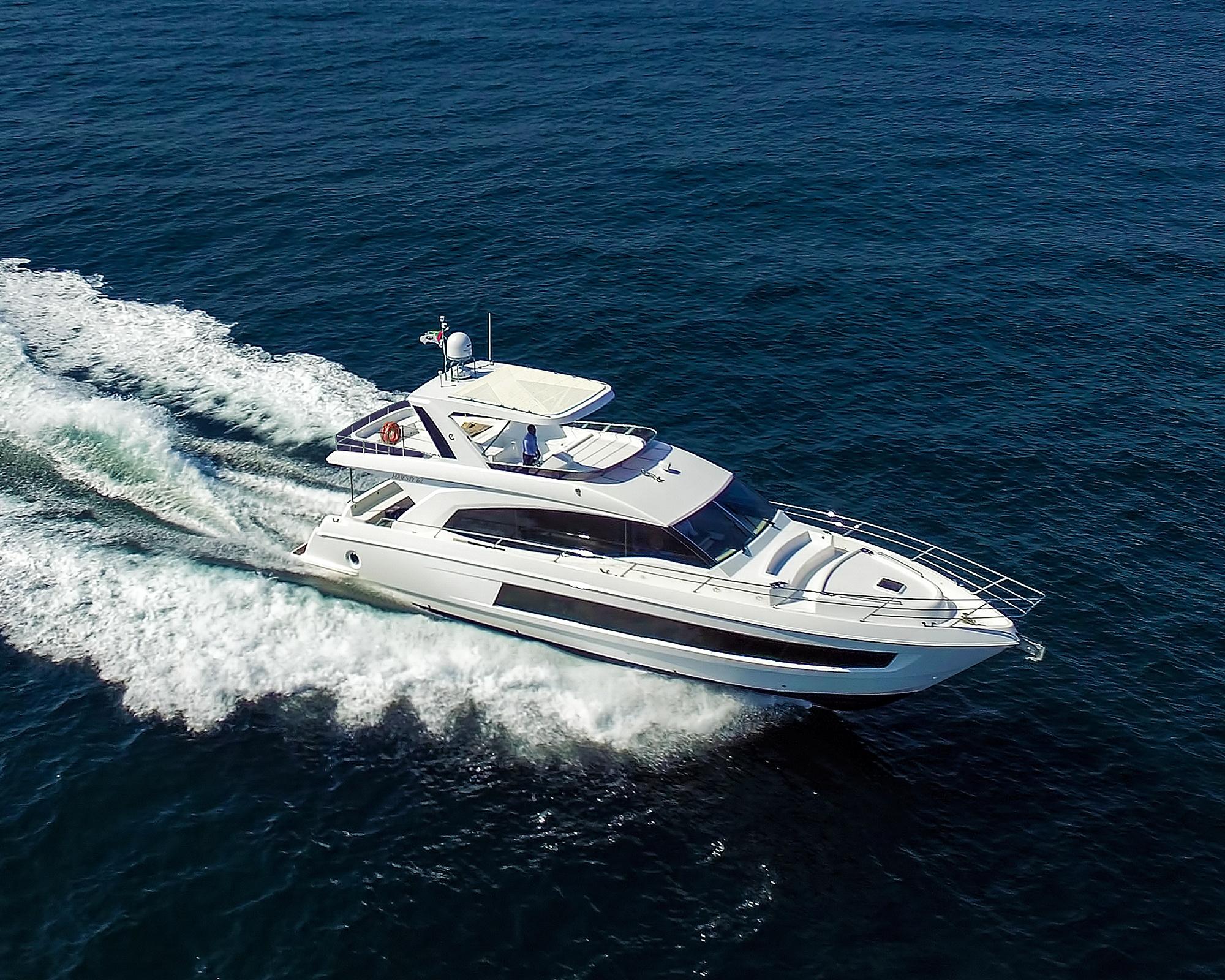 Gulf Craft's all-new Majesty 62