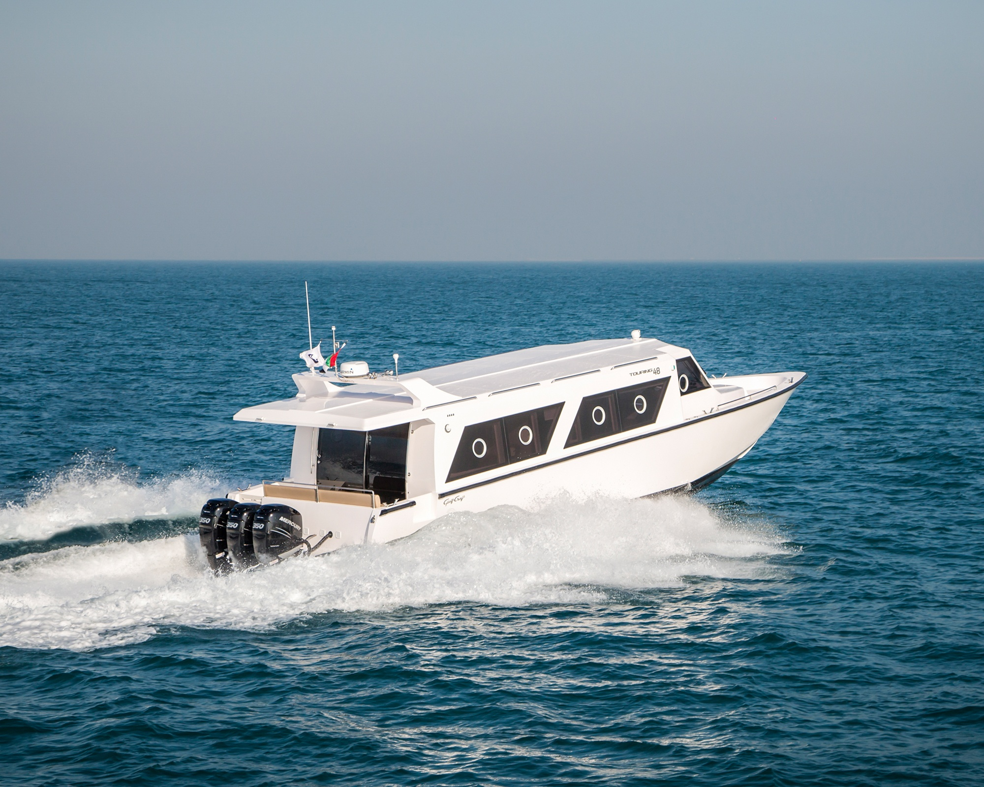 The latest utility boat model- Touring 48