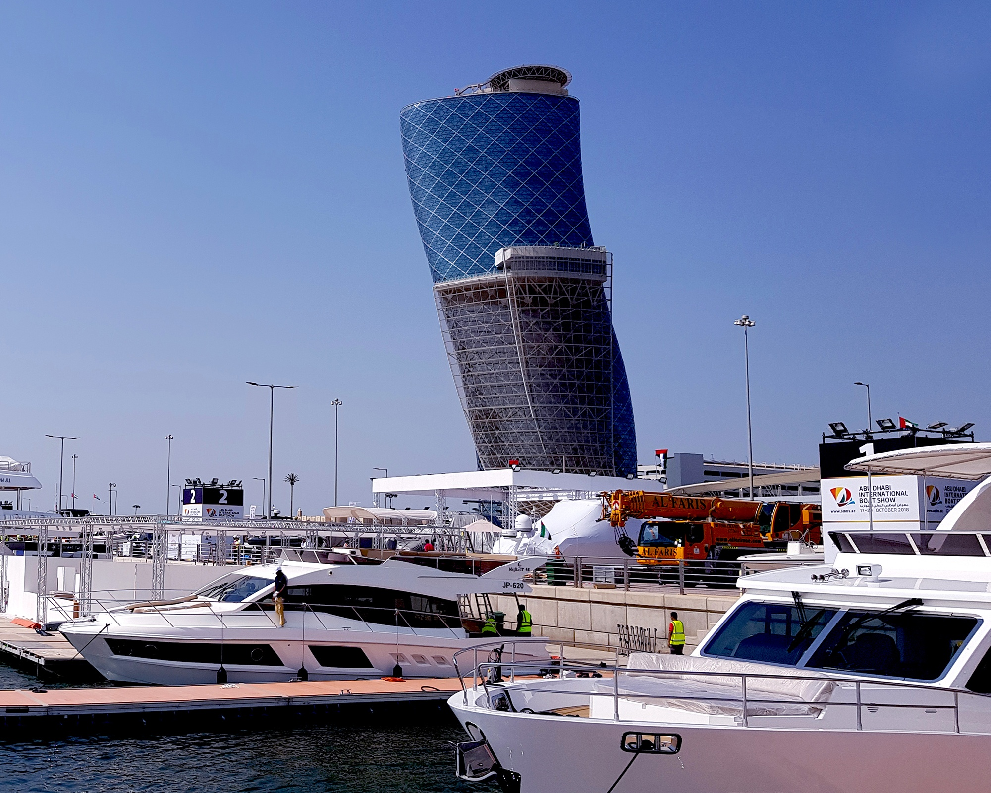 Visit Gulf Craft's water stand OW-94 at the Abu Dhabi Boat Show