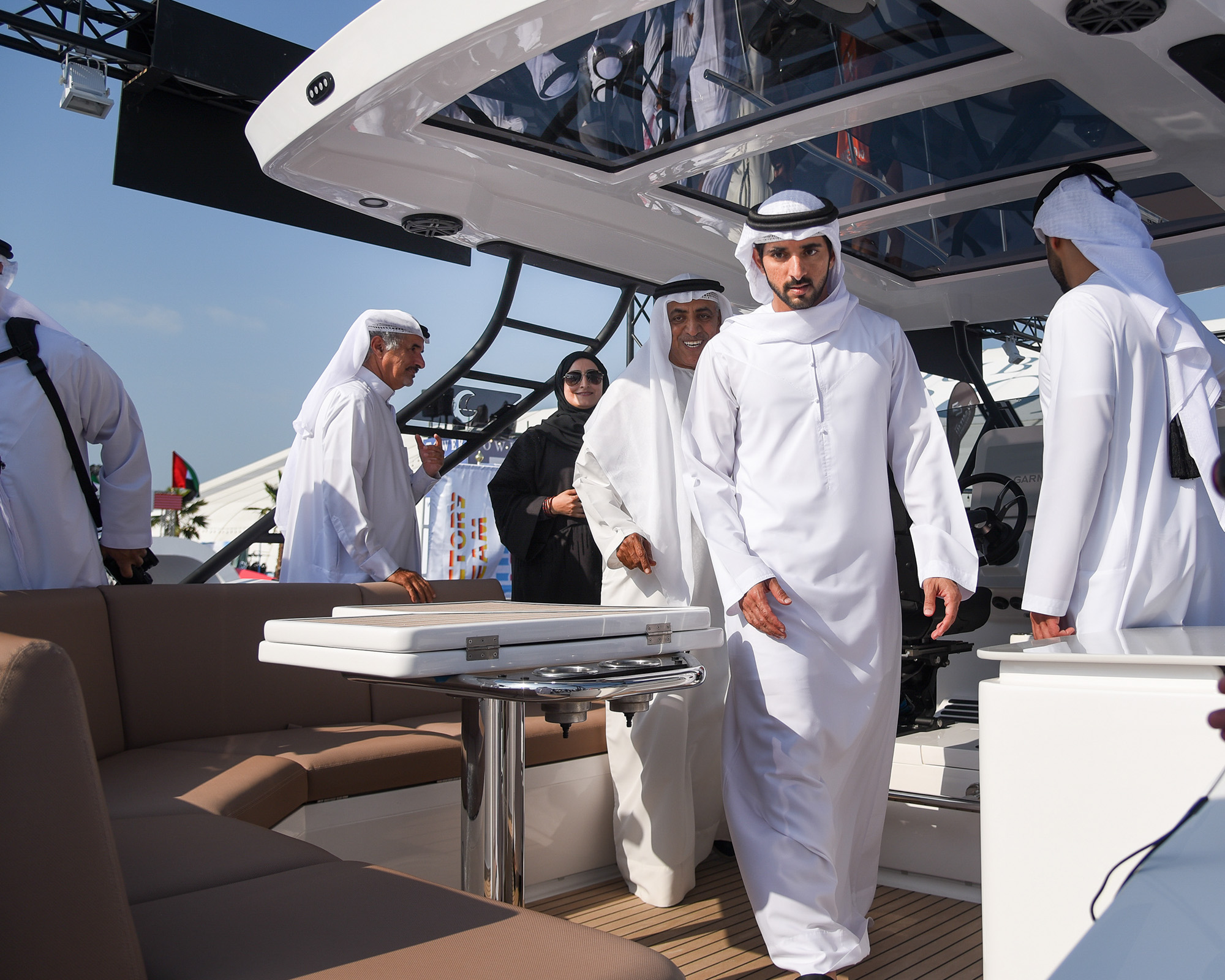 HH Sheikh Hamdan unveils Oryx 379 and SilverCat 34CC (2)