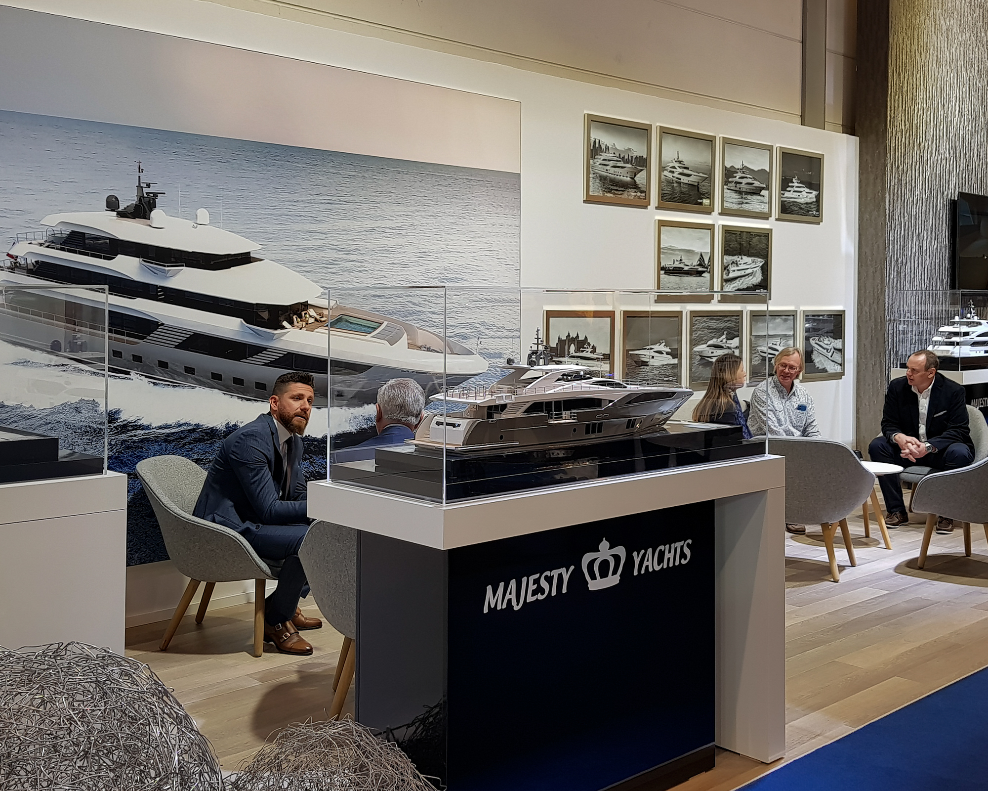 Gulf Craft at the Dusseldorf Boat Show