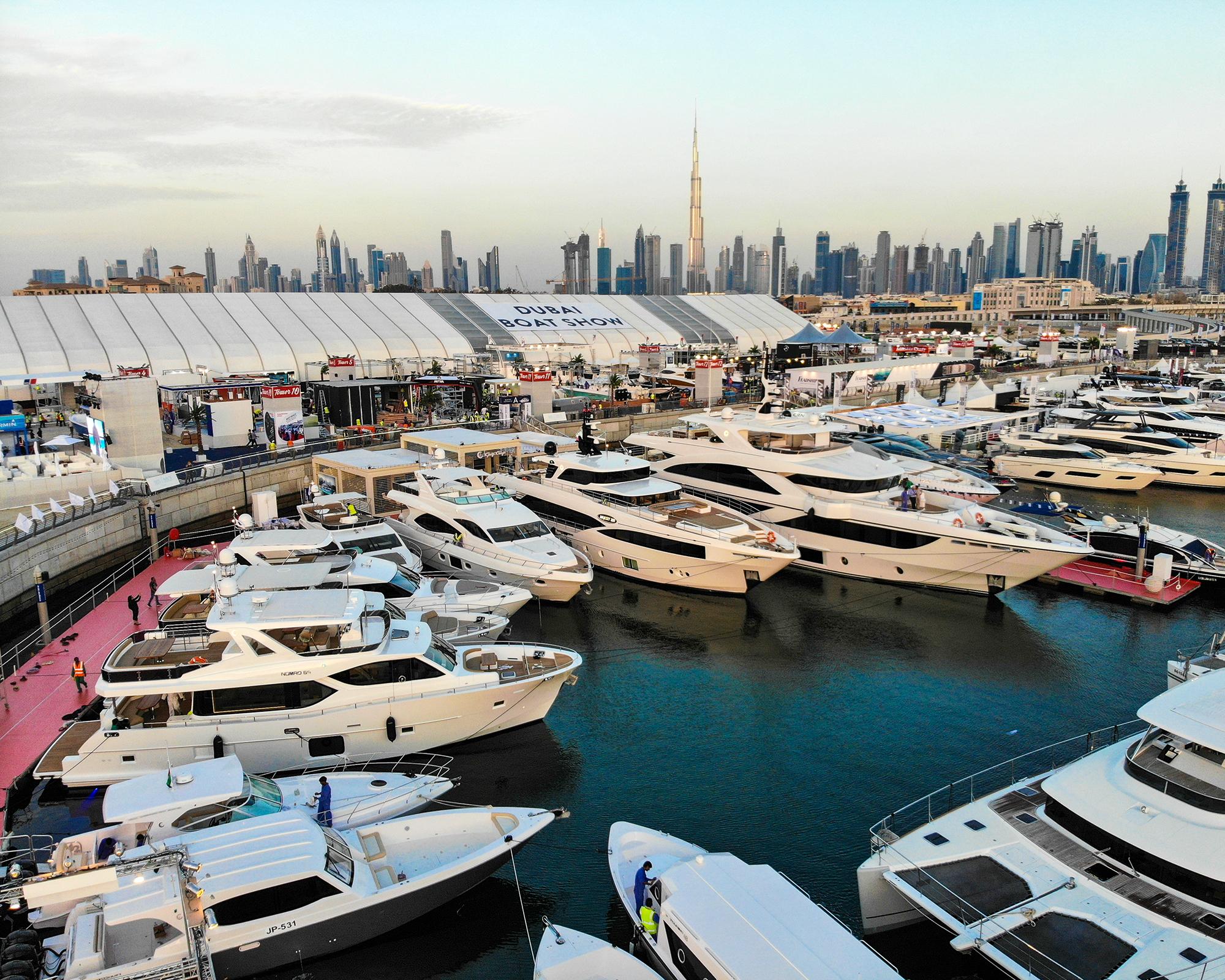 Gulf Craft at the Dubai Boat Show