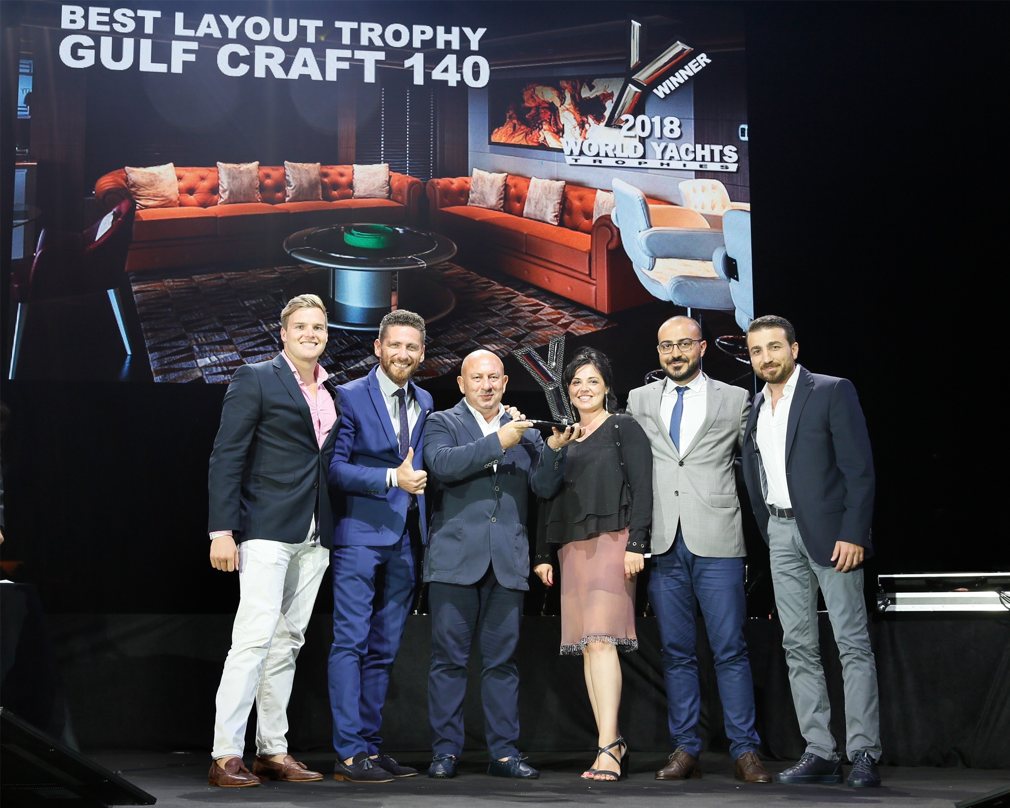 Gulf Craft wins at the 2018 World Yachts Trophies