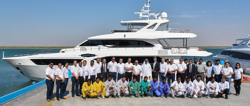 Best Asian Motor Yacht Builder at Singapore Yacht Show