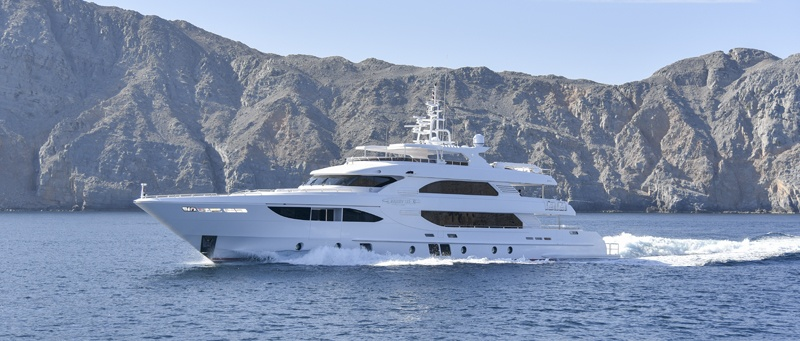 Gulf Craft launches the Majesty 135