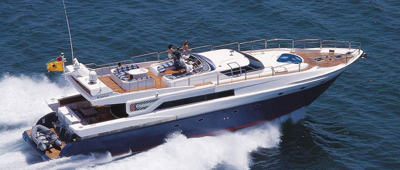 Launch of the Majesty 86 by Gulf Craft